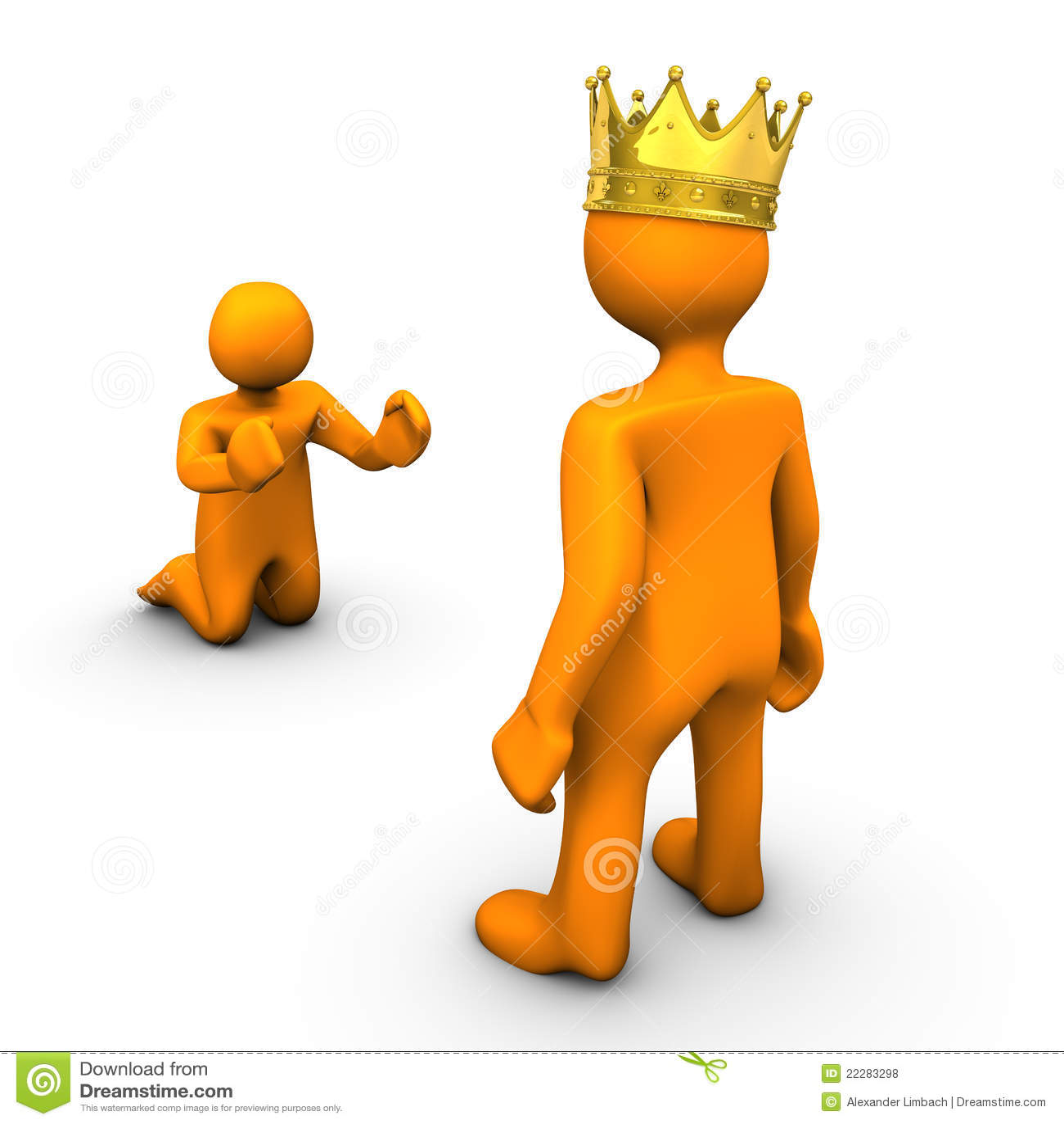 Beggar And King Royalt...