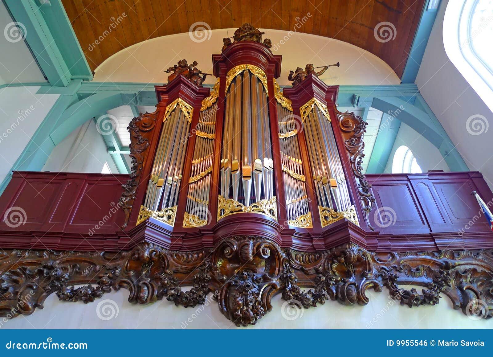 Begijnhof drymba kościelna organowa