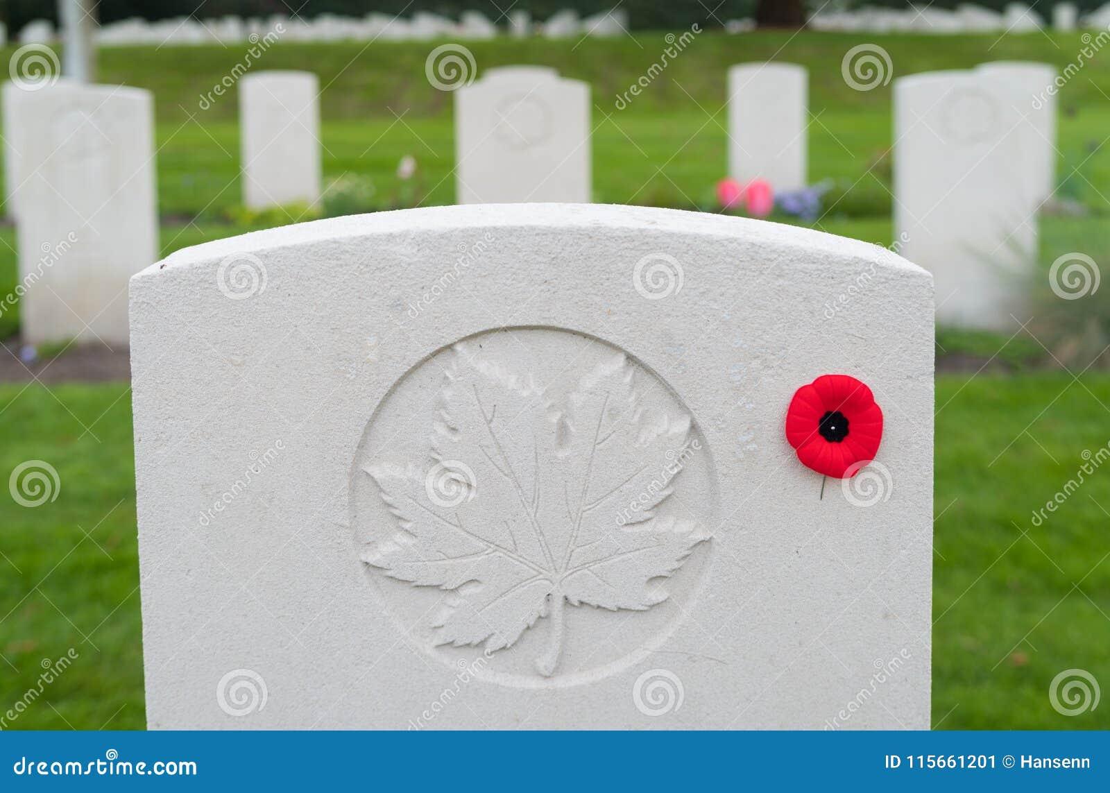 Begraafplaats van de Holten de Canadese oorlog