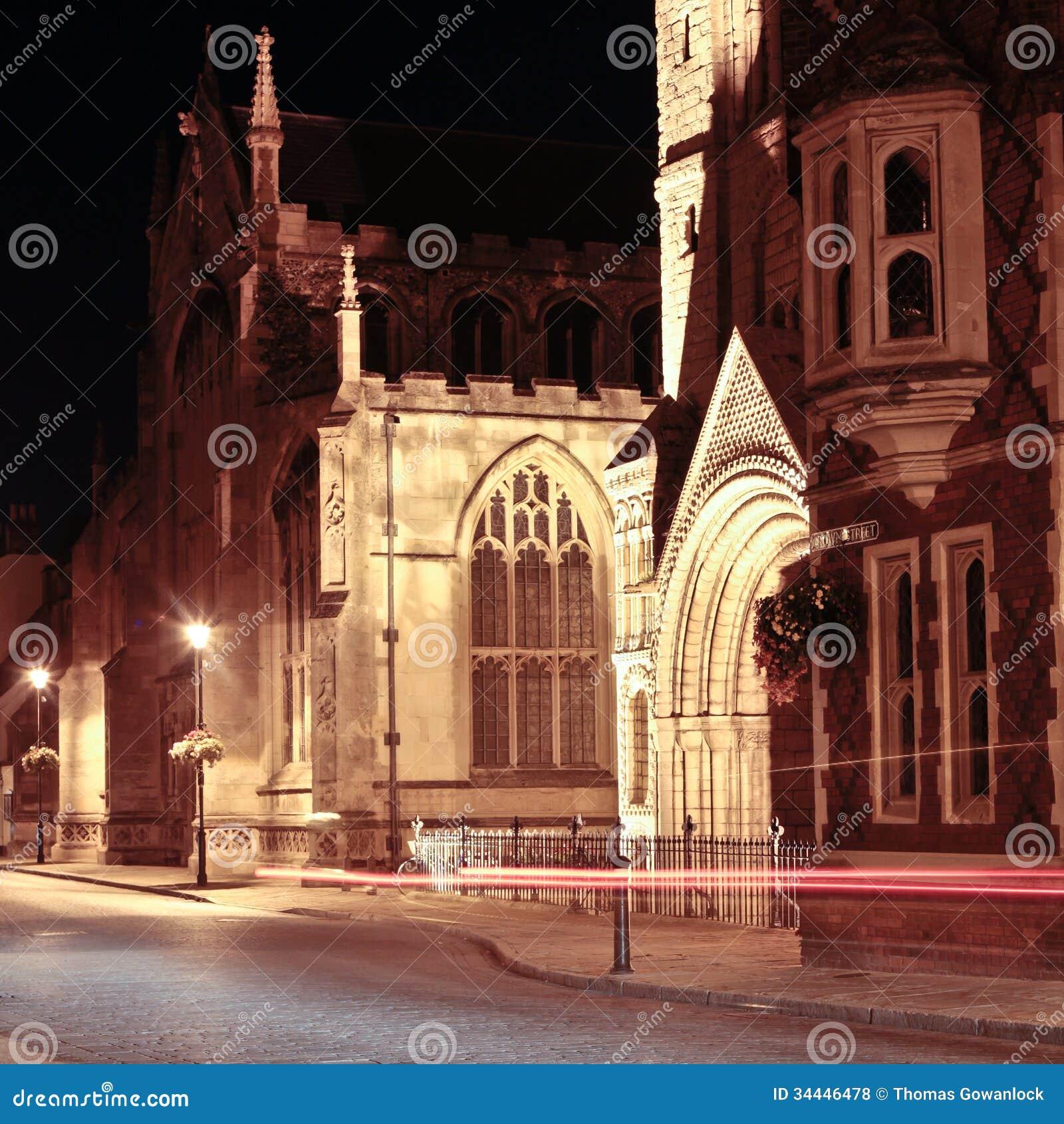 Begrava nattplatsen för St Edmunds