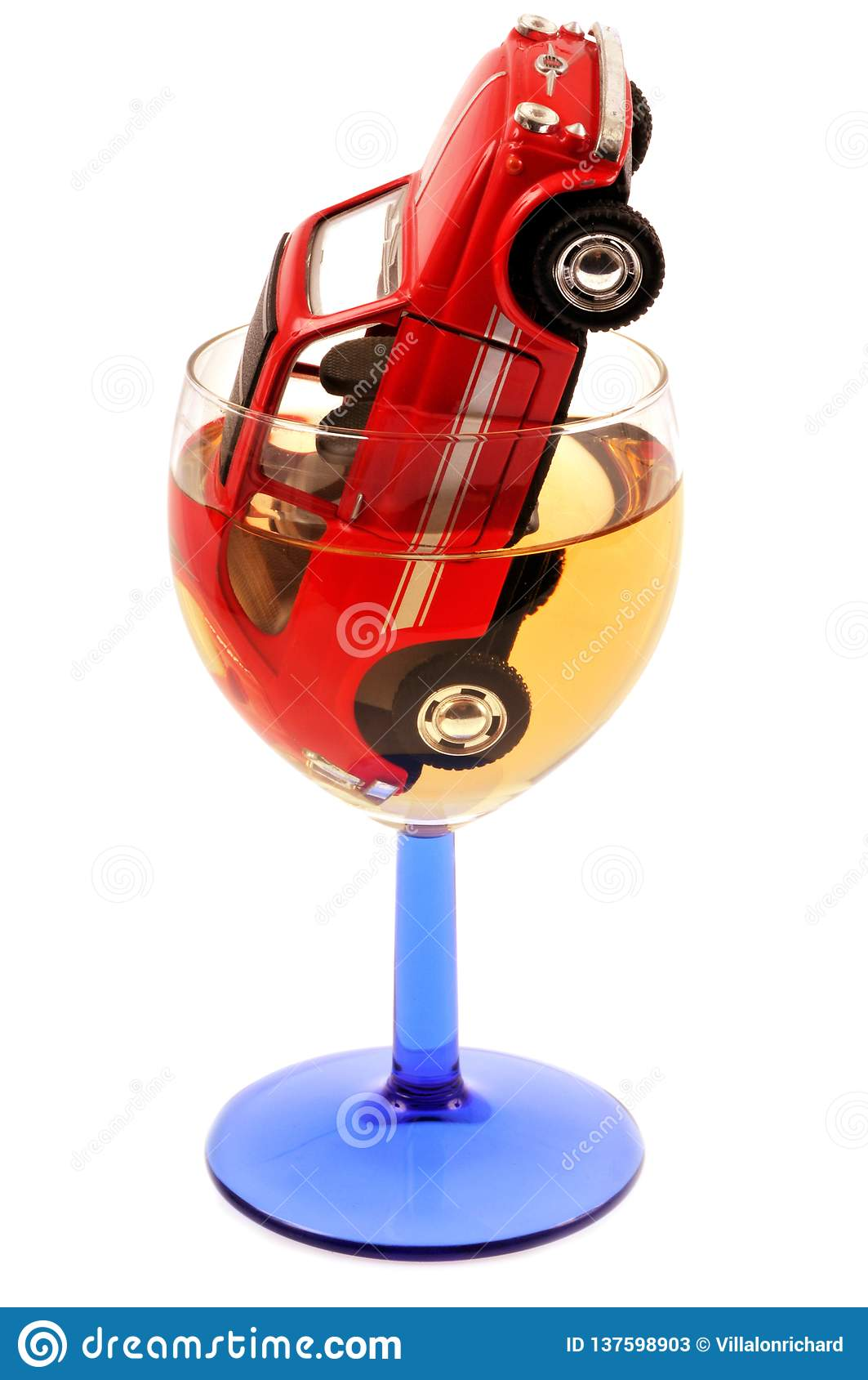 Begrepp av att dricka och körning