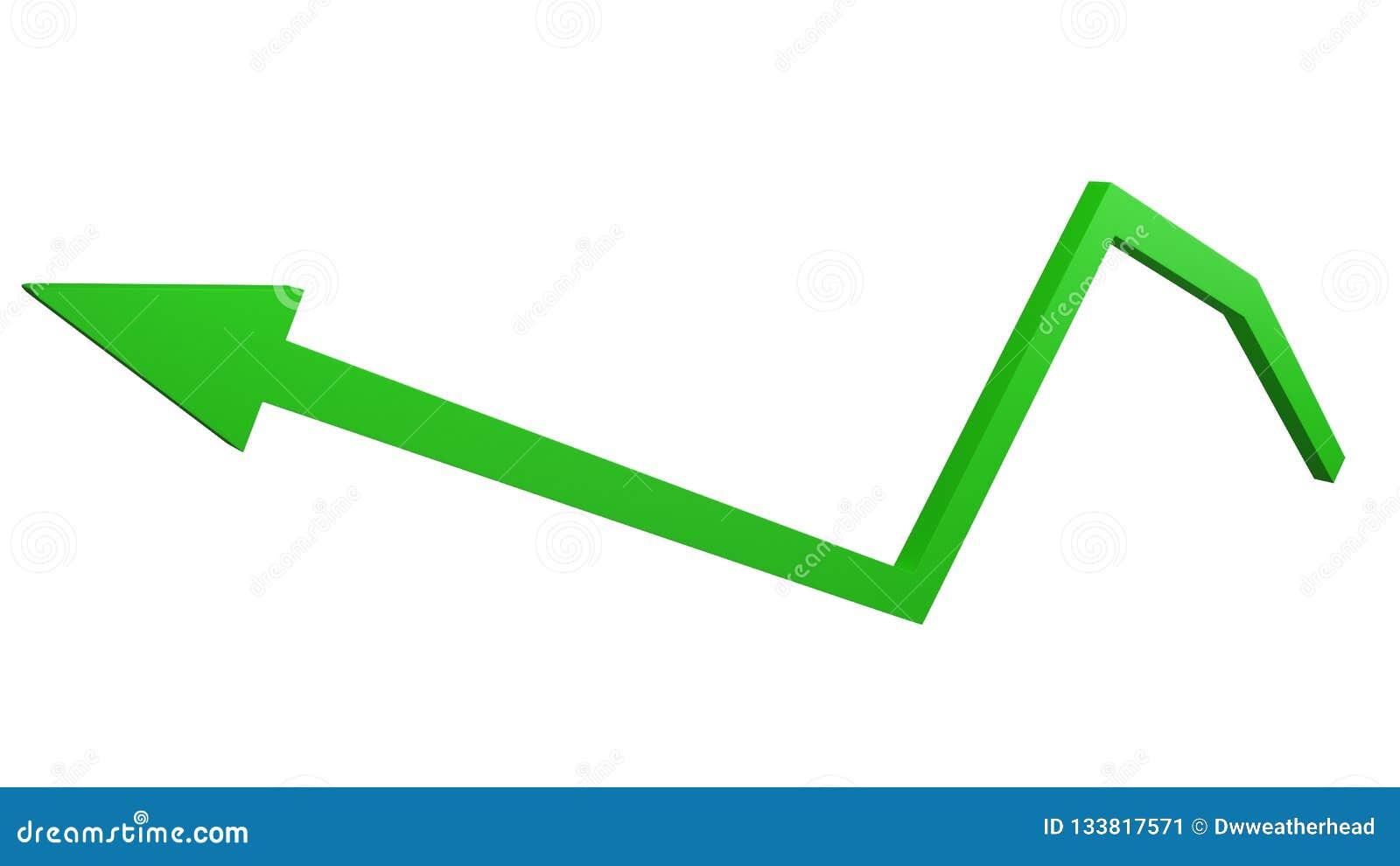 Begrepp av ekonomisk tillväxt- och affärsframgång med guld- stänger 3d att framföra