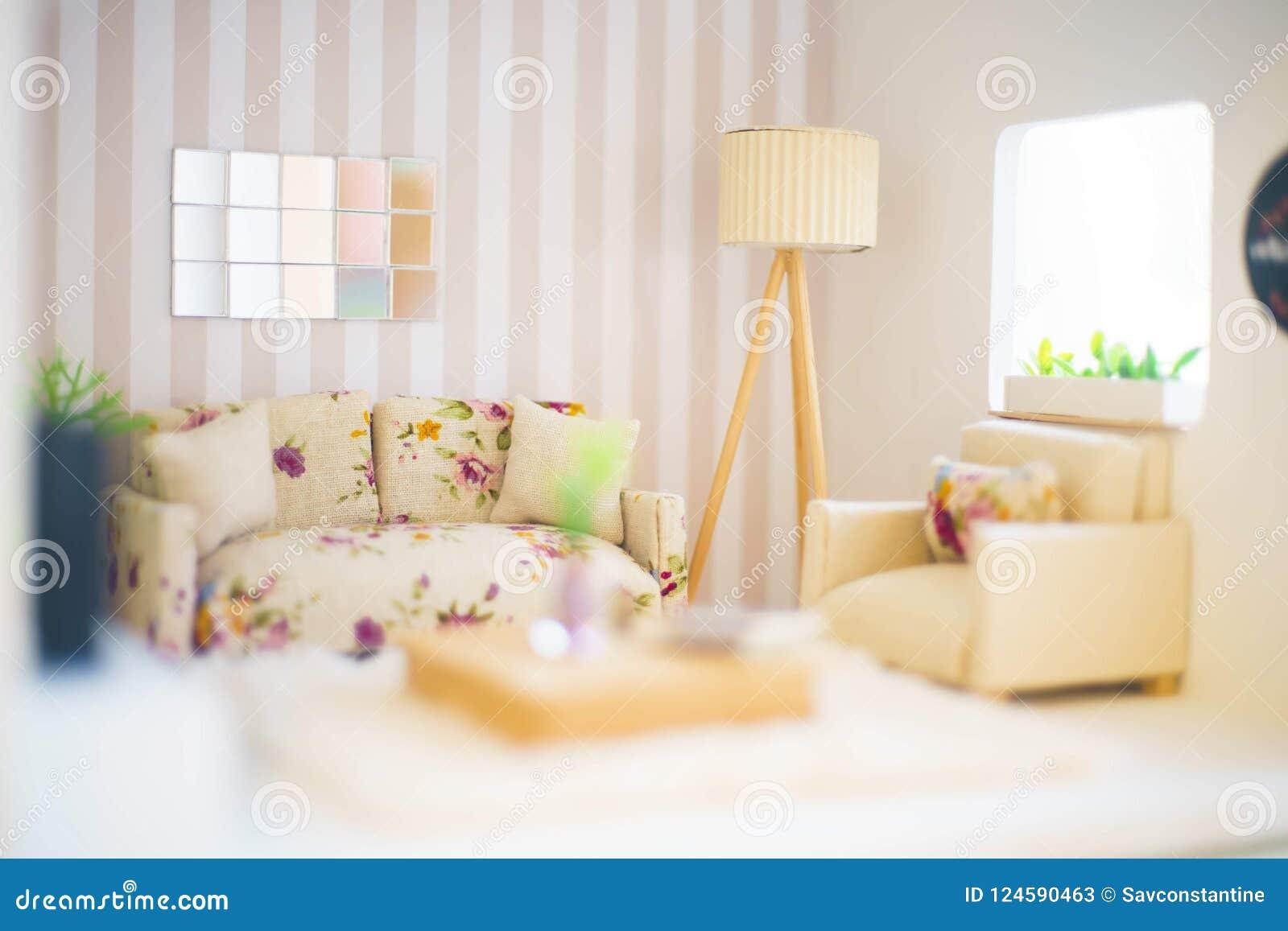 Begrepp av ett litet rum