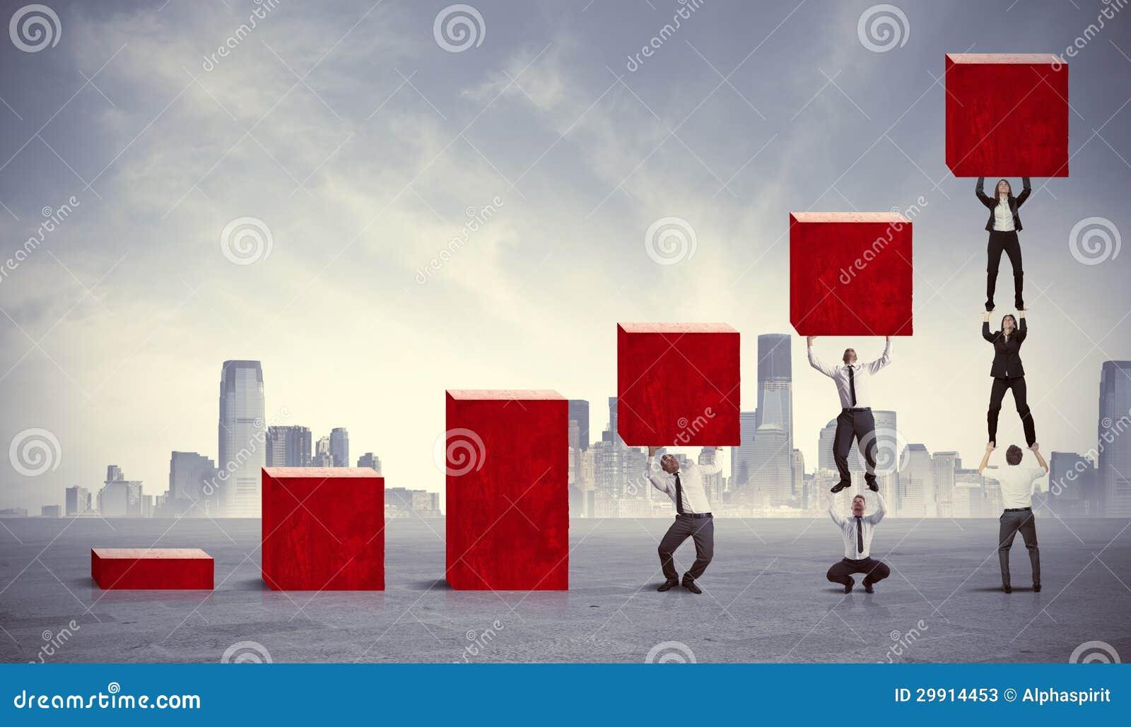Teamwork och företags vinst