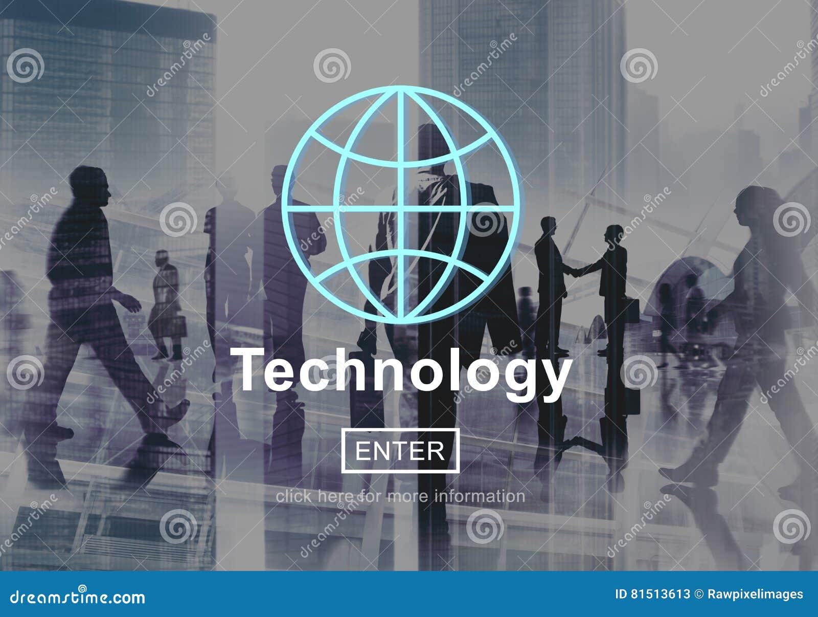 Begrepp för anslutning för Homepage för global kommunikation för teknologi