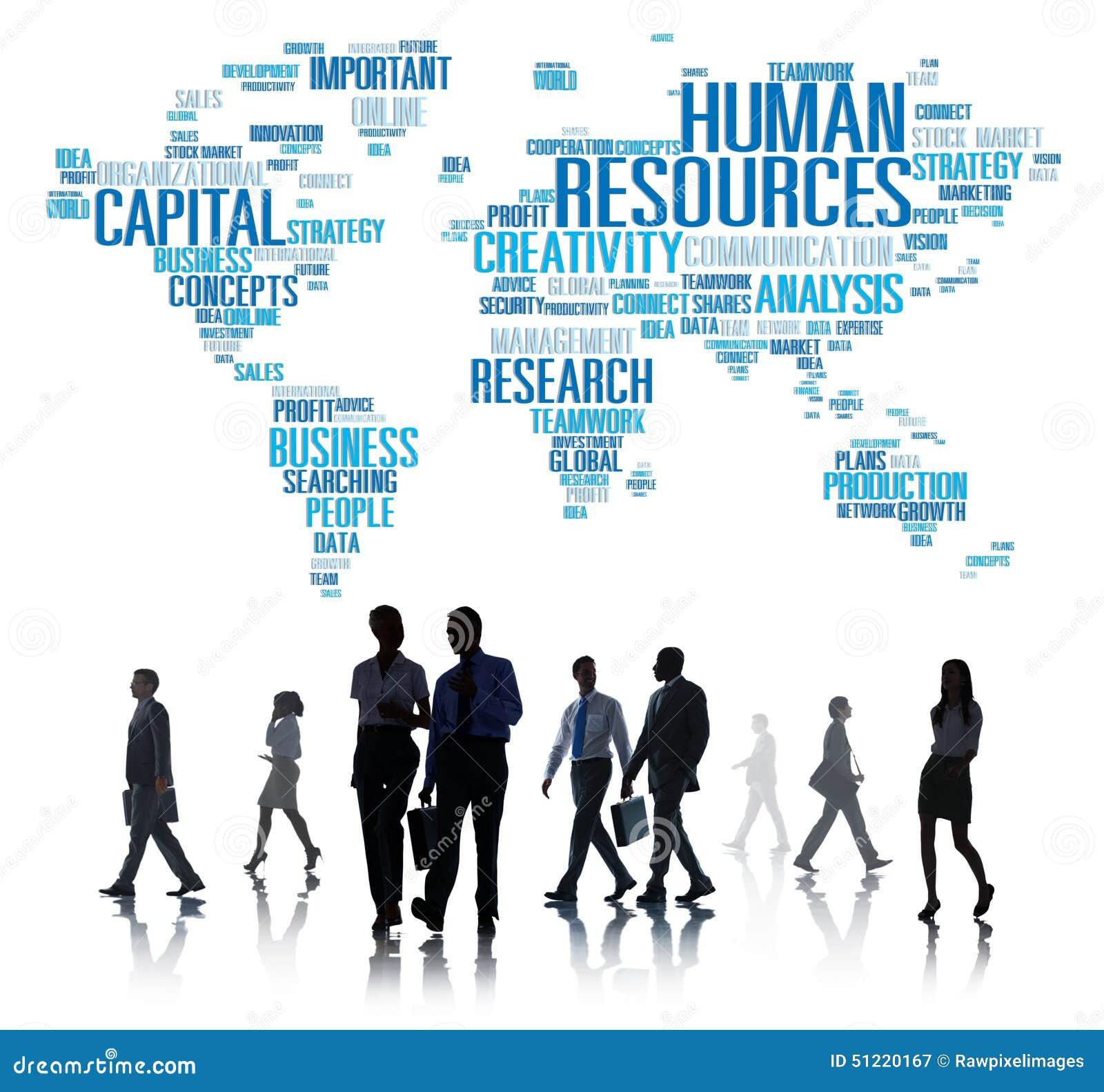 Begrepp för anställning för ockupation för personalresurskarriärjobb