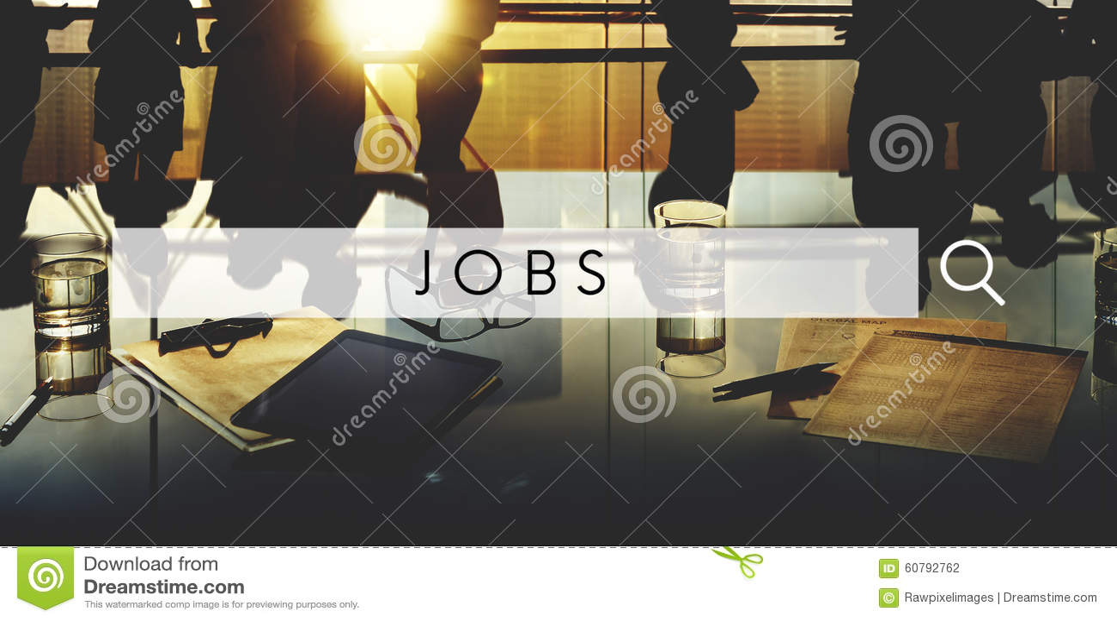 Begrepp för applikation för ockupation för jobbanställningkarriär