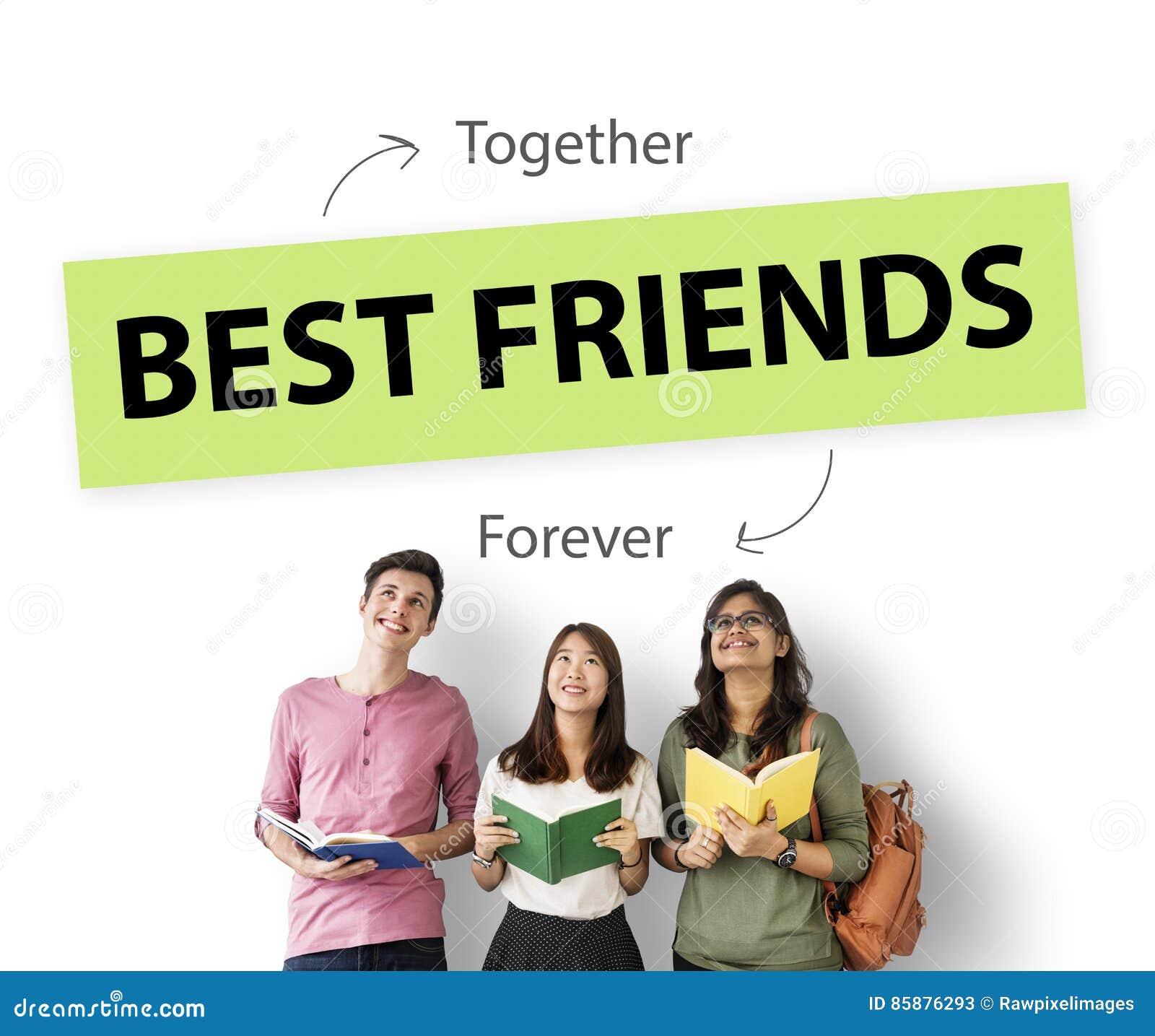 Begrepp för bästa vänförälskelsepartnerskap