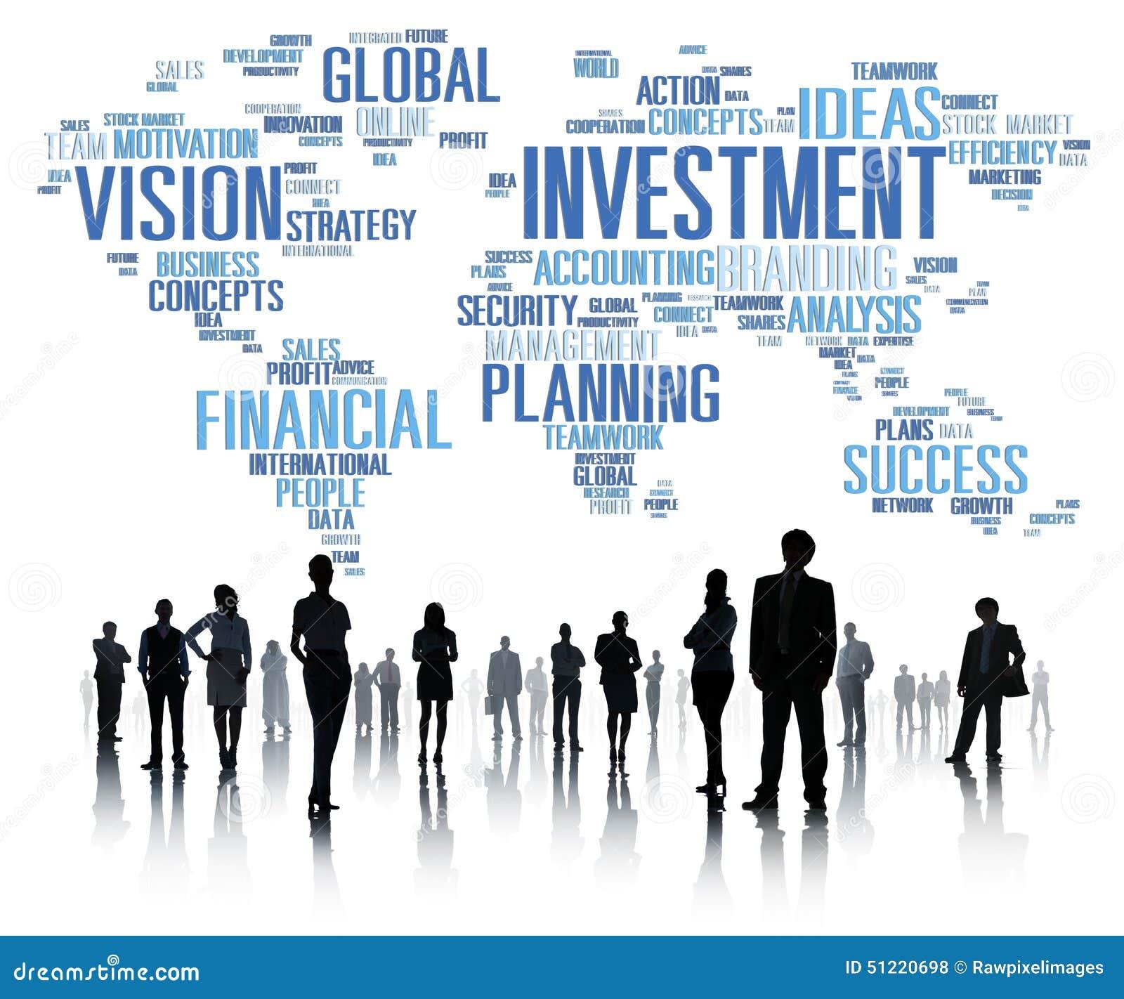 Begrepp för budget för bankrörelsen för vinst för global affär för investering