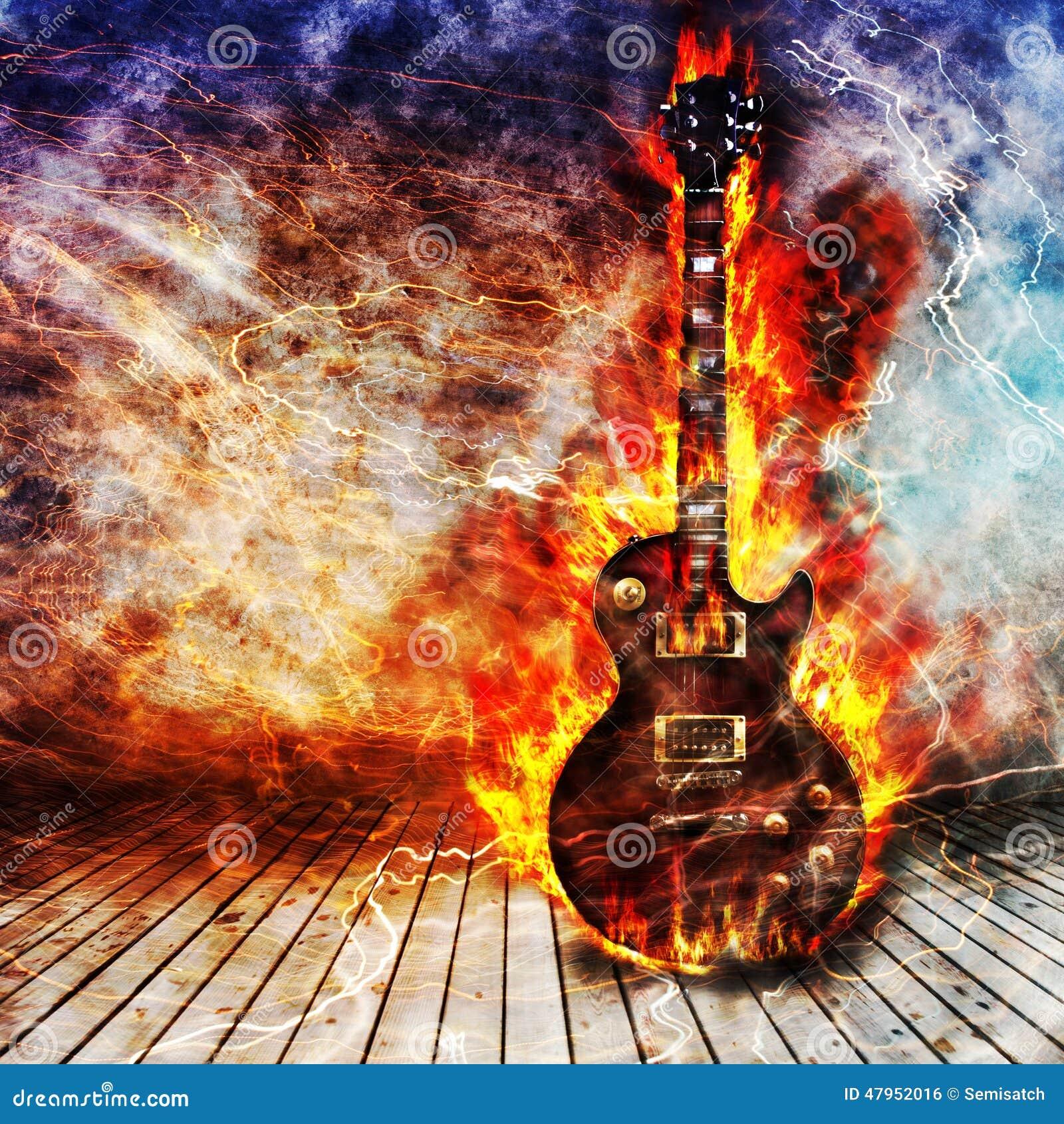 Begrepp för elektrisk gitarr