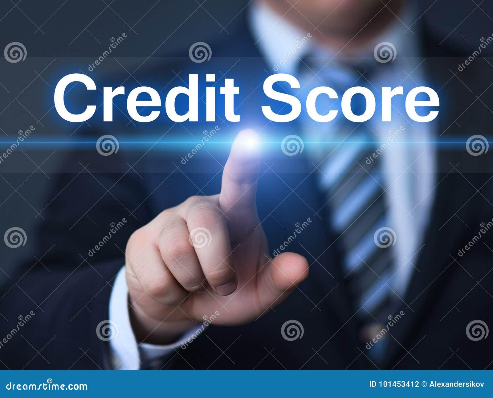 Begrepp för internet för teknologi för affär för skuld för historia för ställning för krediteringsställning