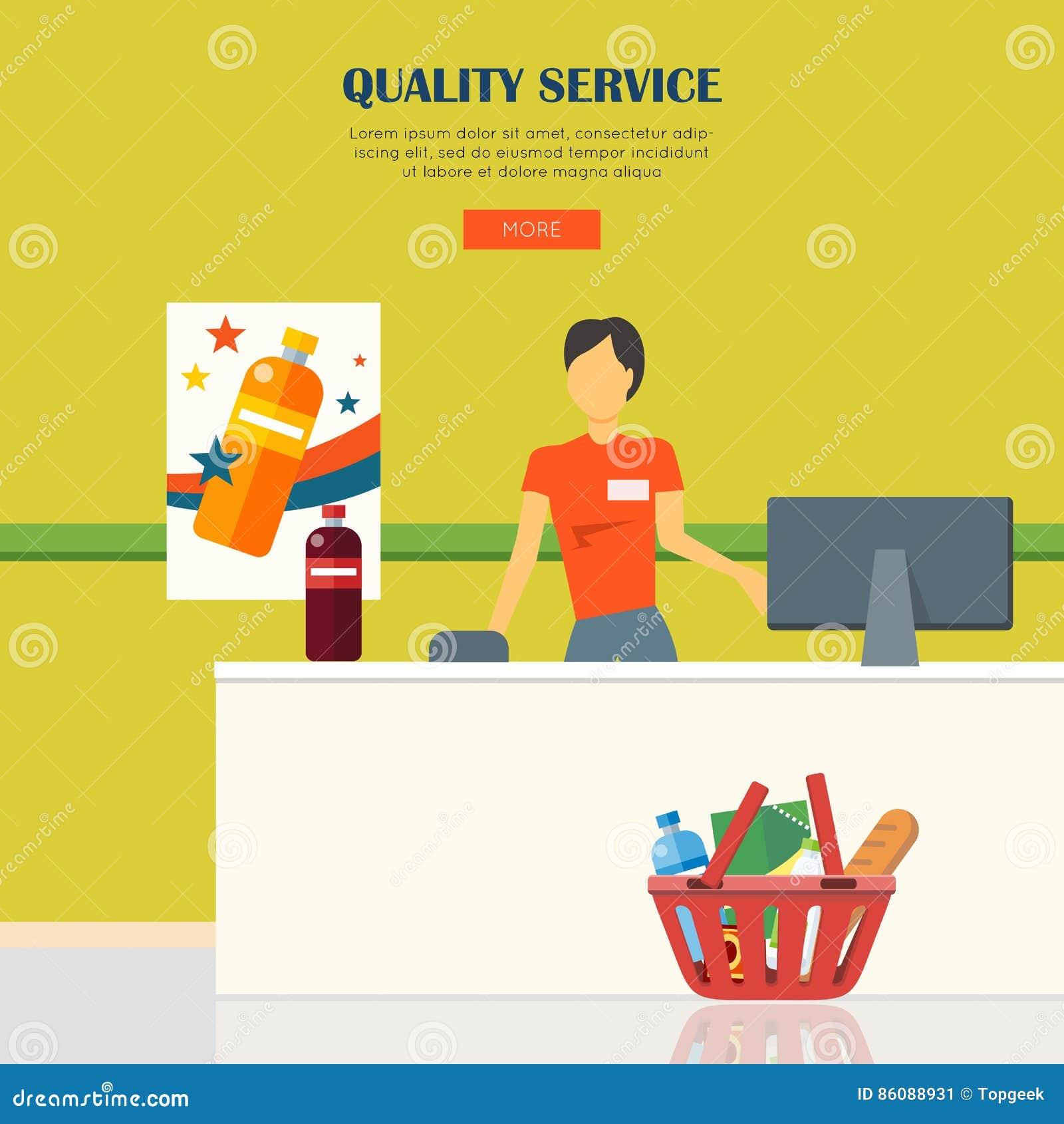 Begrepp för kvalitets- service
