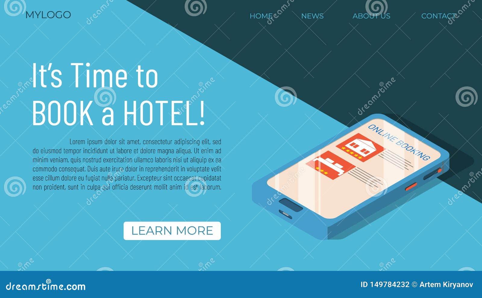 Begrepp för mall för hotellbokning