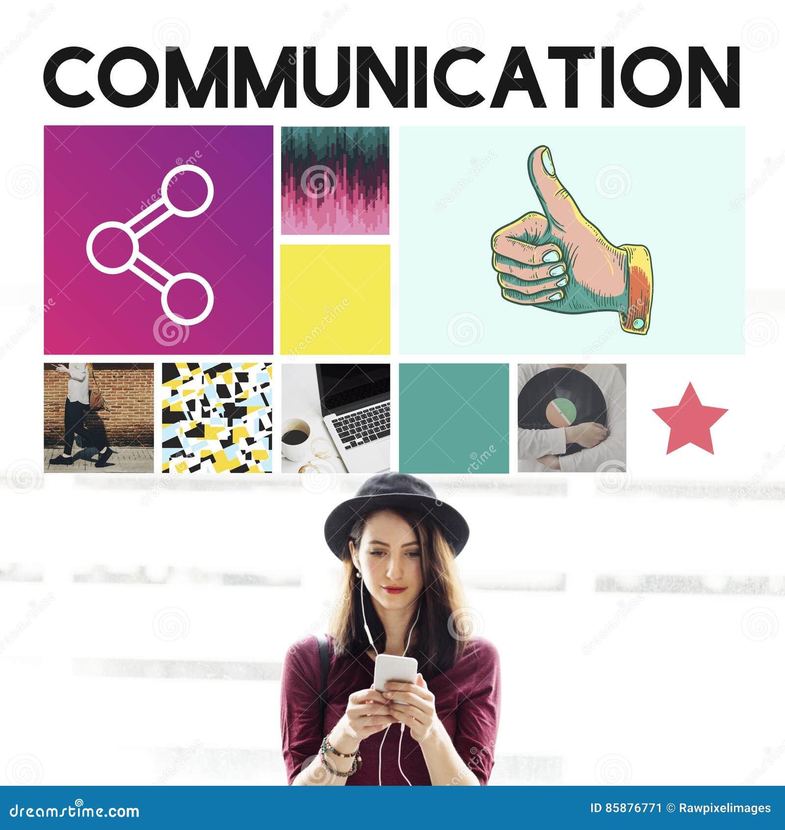Begrepp för meddelande för information om kommunikationsanslutning
