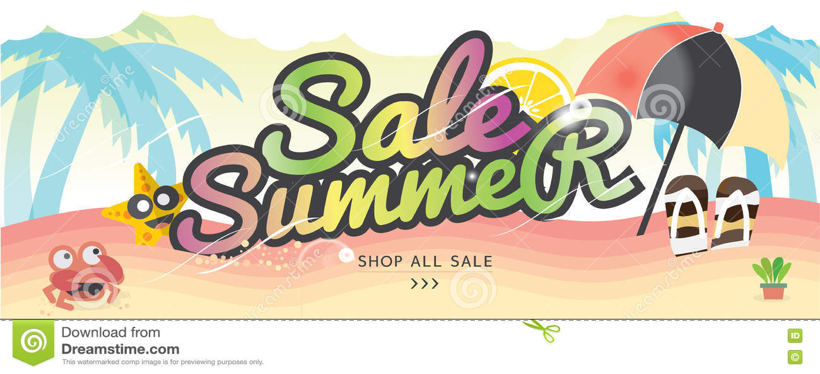 Begrepp för semester för sommar för baner för sommarferie