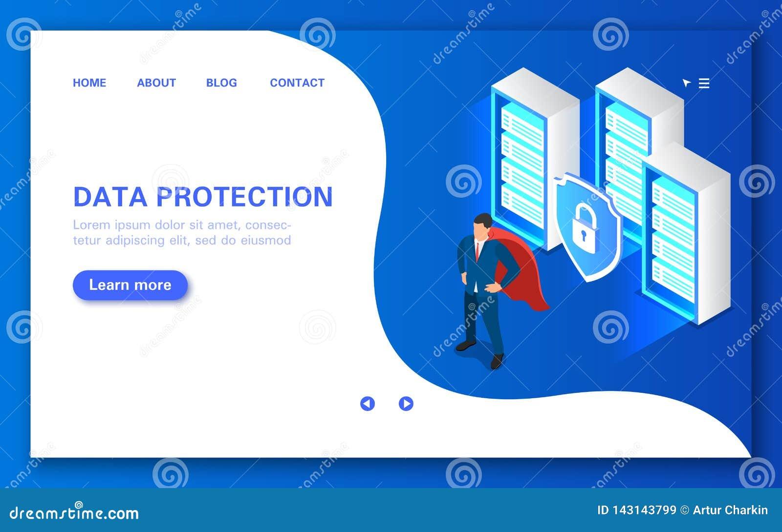 Begrepp för serverdataskydd Programvara som ska skyddas mot en hackerattacker