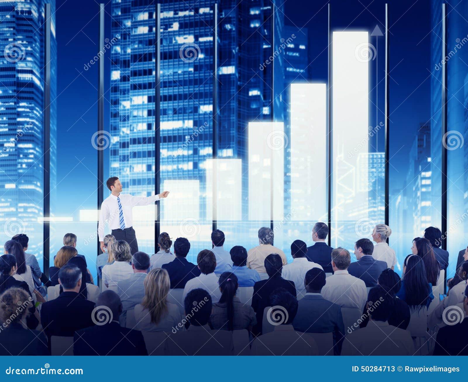 Begrepp för utbildning för möte för konferens för seminarium för affärsfolk