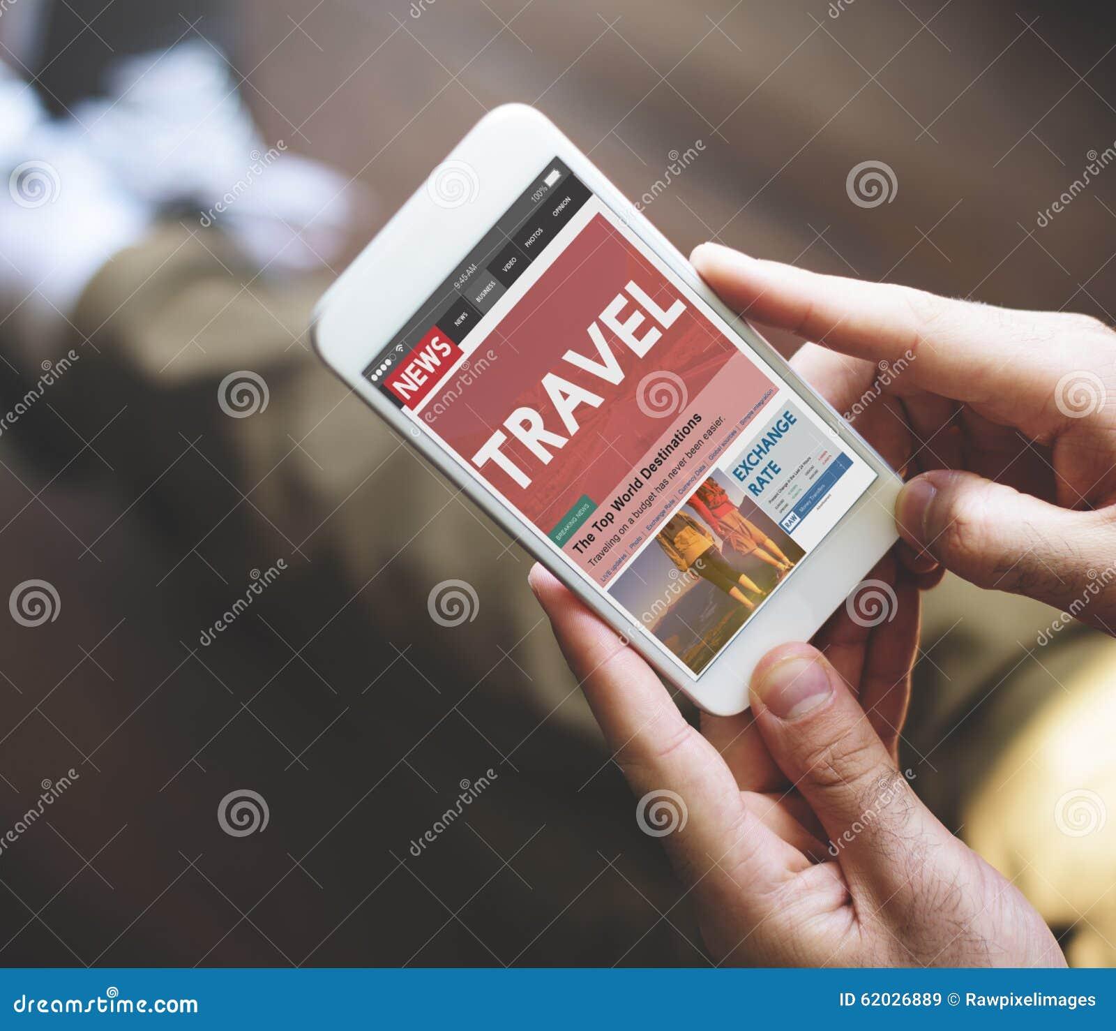 Begrepp för Website för informationsbladloppartikel online-