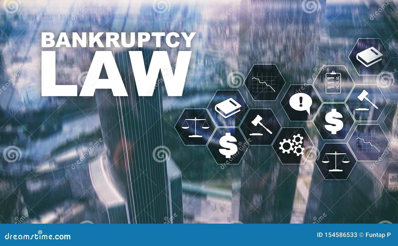 Begrepp f?r konkurslag Obest?ndlag Advokataff?rsid? f?r juridiskt beslut Finansiell bakgrund f?r blandat massmedia