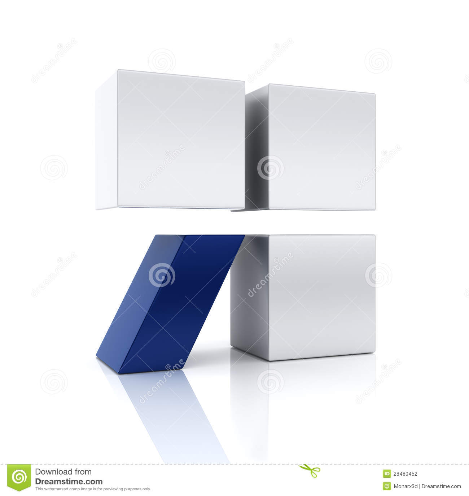 Begreppsmässigt symbol för abstrakt blått