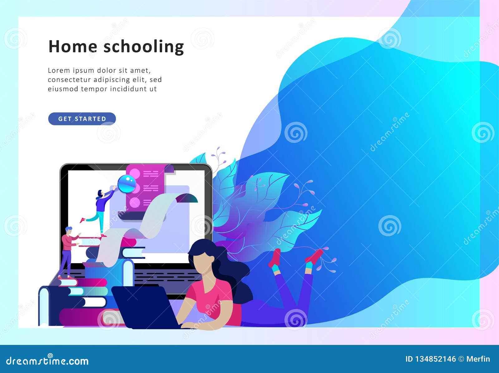 Begreppsutbildningsfolk, internet som studerar och direktanslutet att utbilda, online-bok