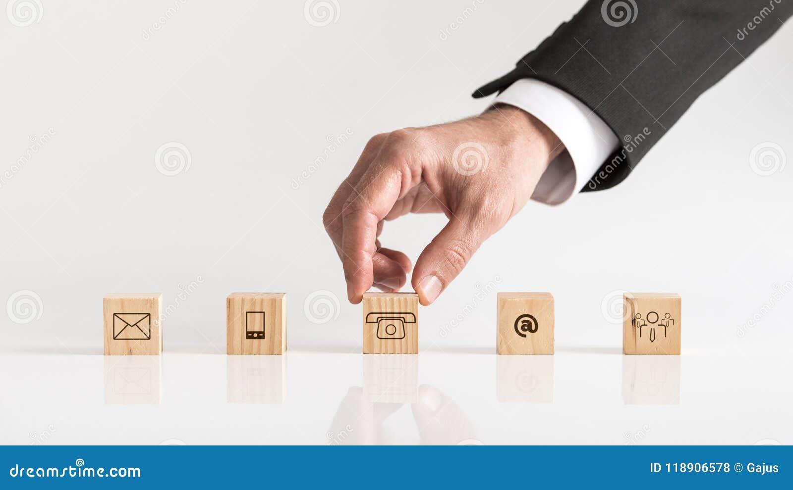 Begrifflich von der Kommunikation und von der Kundenbetreuung