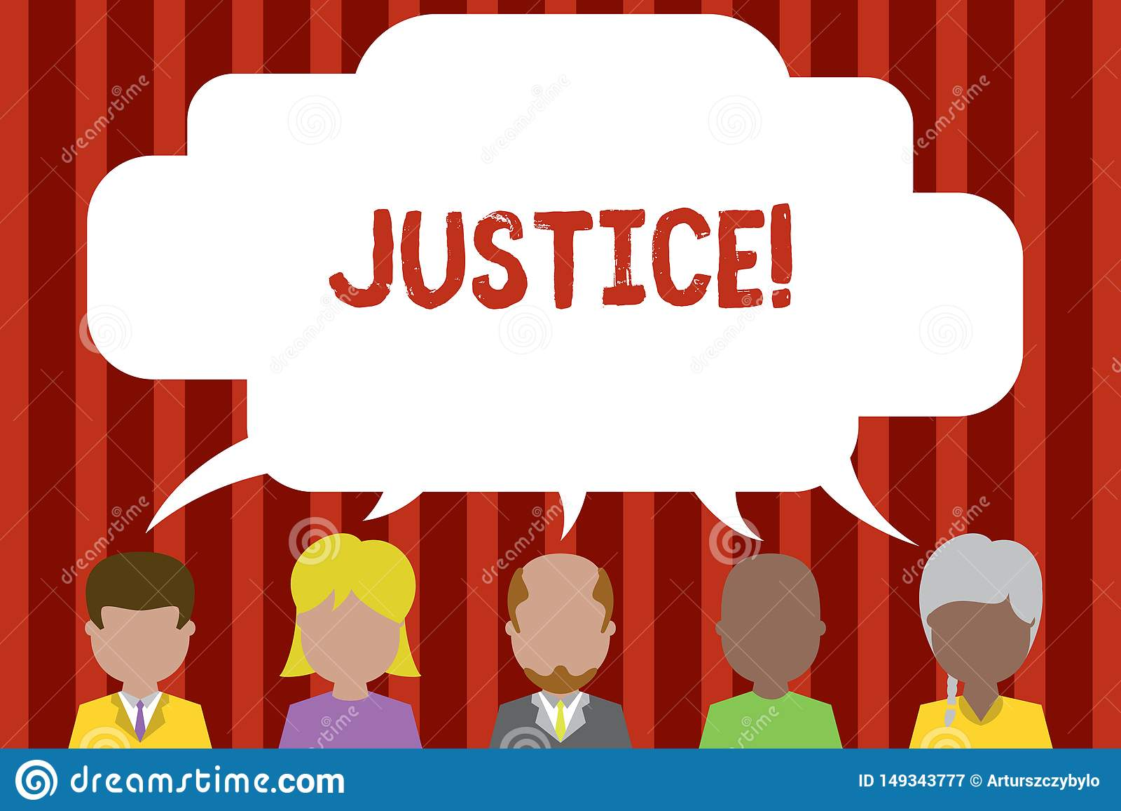 Begriffshandschrift, die Gerechtigkeit zeigt Gesch?ftsfoto, das unparteiische Anpassung von kontroversen Anspr?chen zur Schau ste