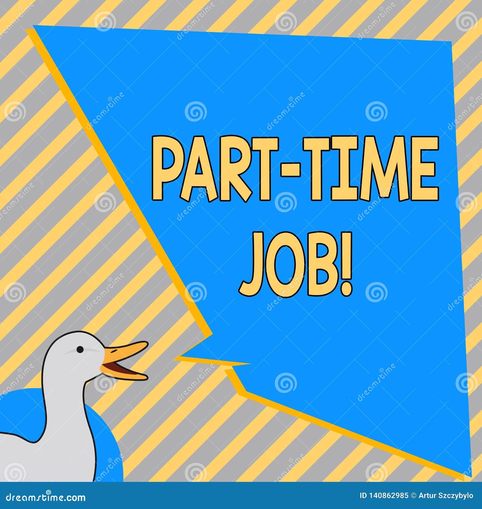 Begriffshandschrift, die Halbtagsarbeit zeigt Geschäftsfototext, der pro Tag einige Stunden Temporary Work Limited bearbeitet