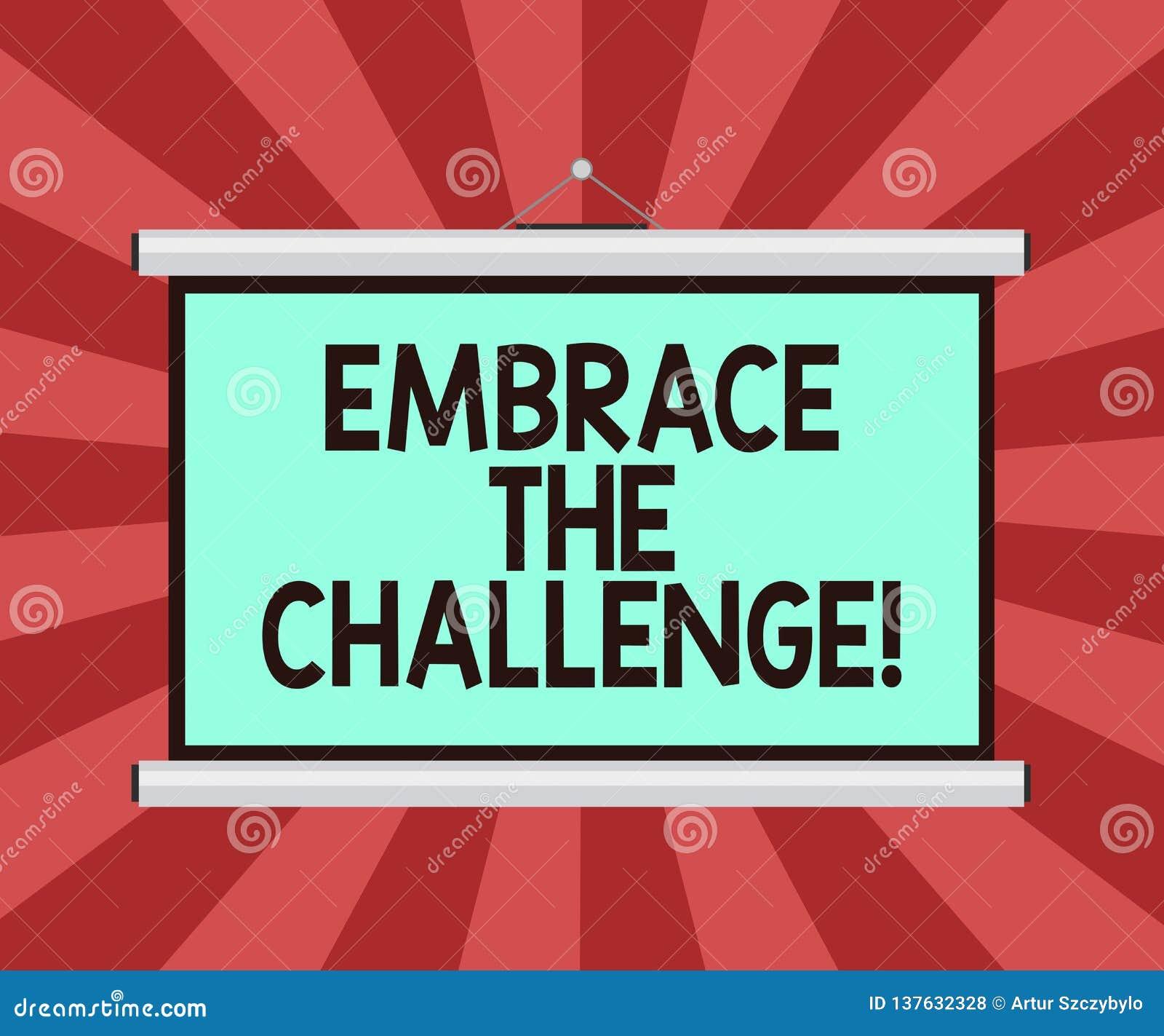 Begriffshandschriftvertretung umfassen die Herausforderung Geschäftsfoto Präsentationsgesicht irgendwelche Versuche, das mit Würd