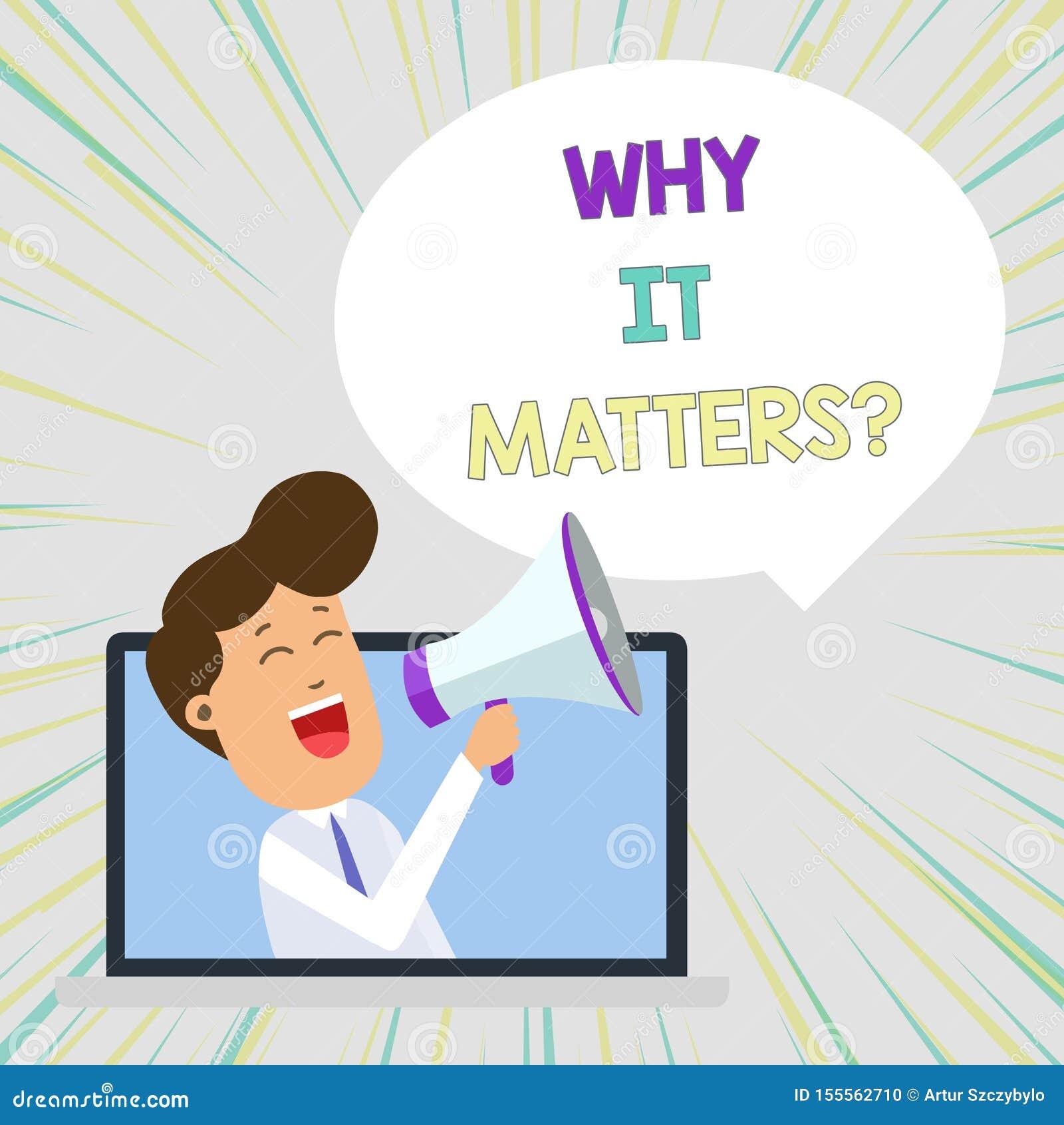 Begriffshandschriftvertretung, warum sie Frage von Bedeutung ist Gesch?ftsfototext bitten das Demonstrieren nach etwas, das er de