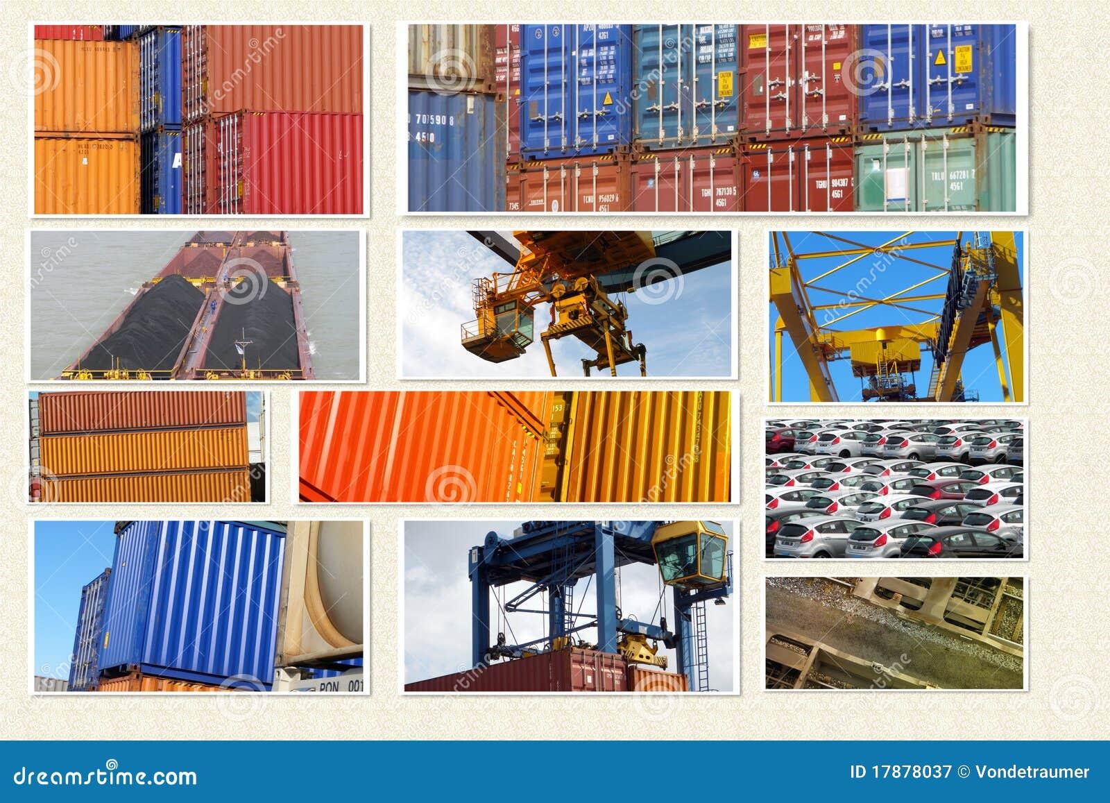 Behältertransport