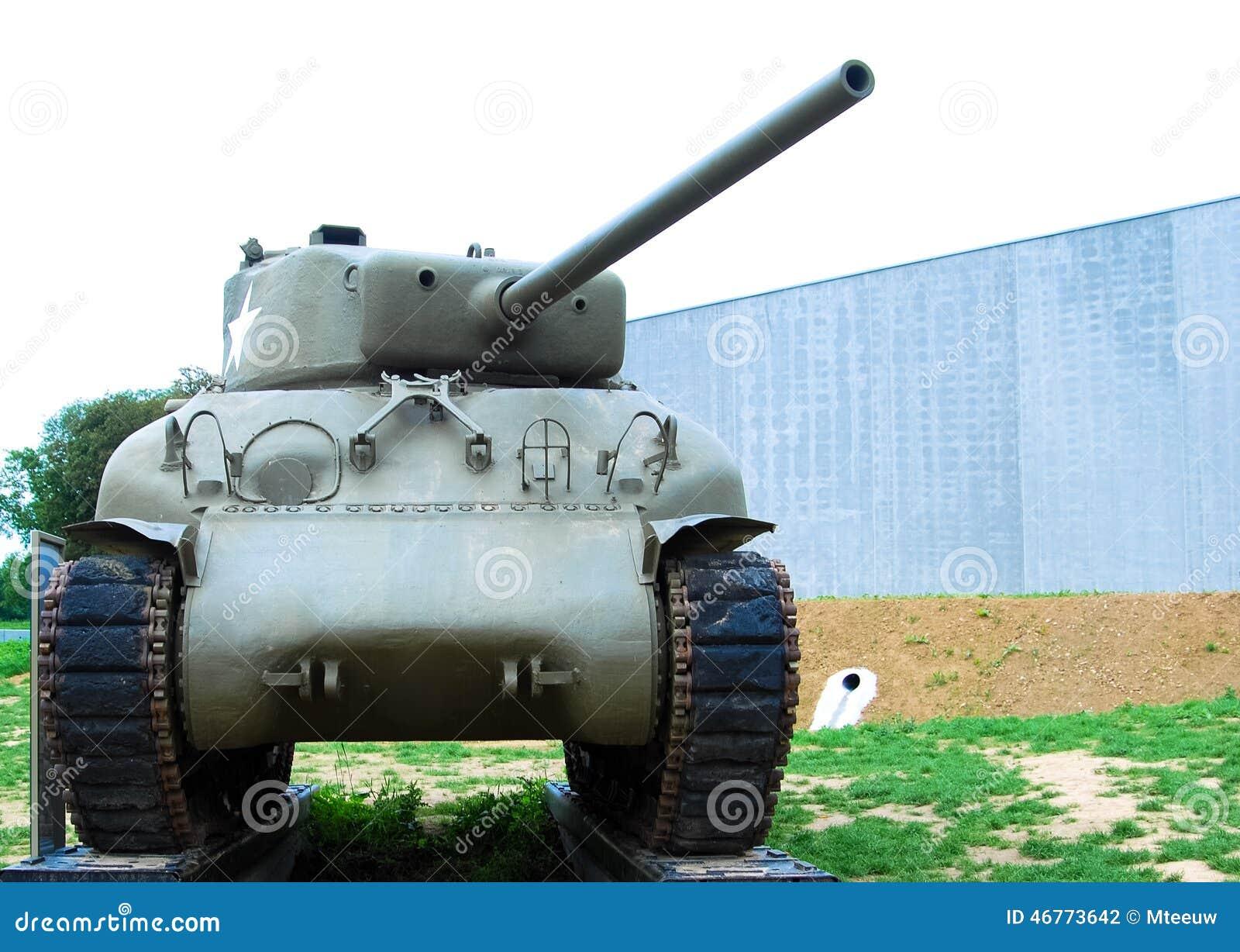 Behållare för Sherman World krig II