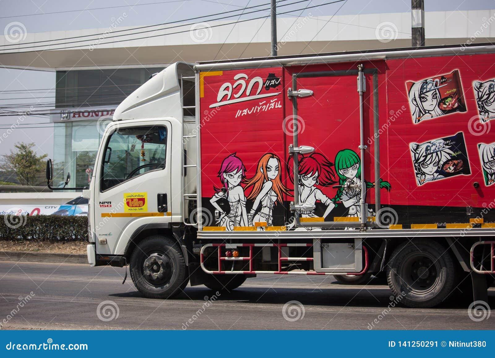 Behållarelastbilen av Thailändsk Bevara Mat Fabrik Företag begränsade