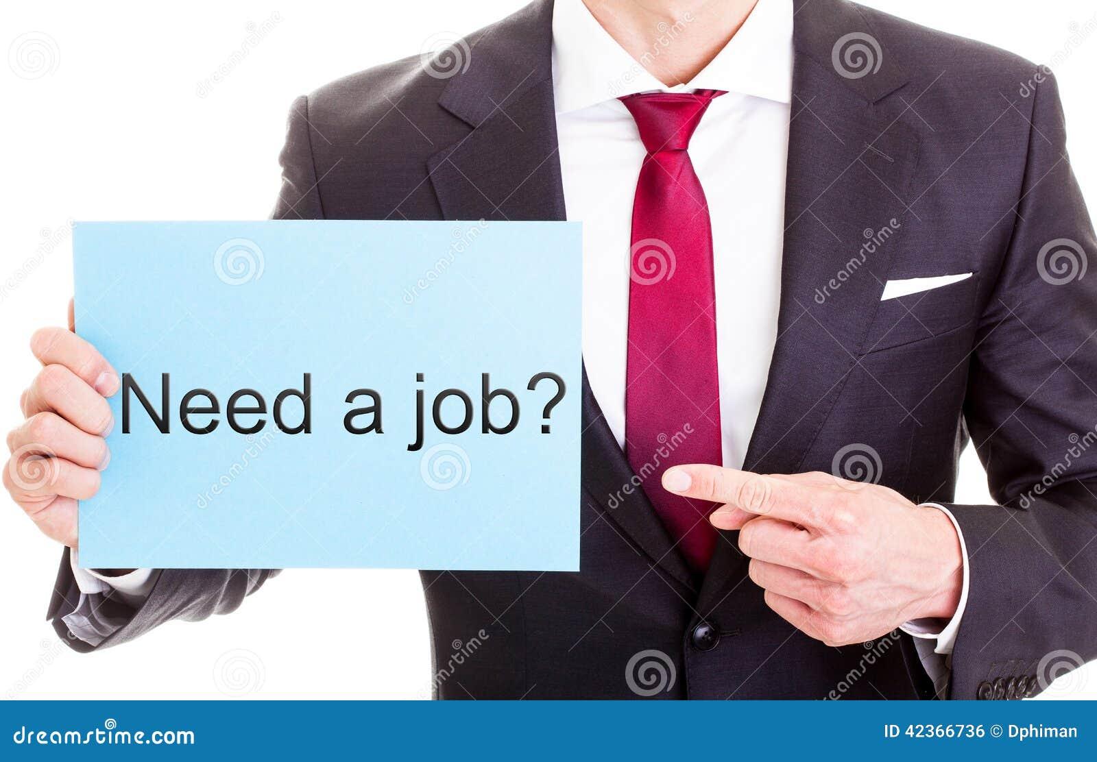 Behöv ett jobb