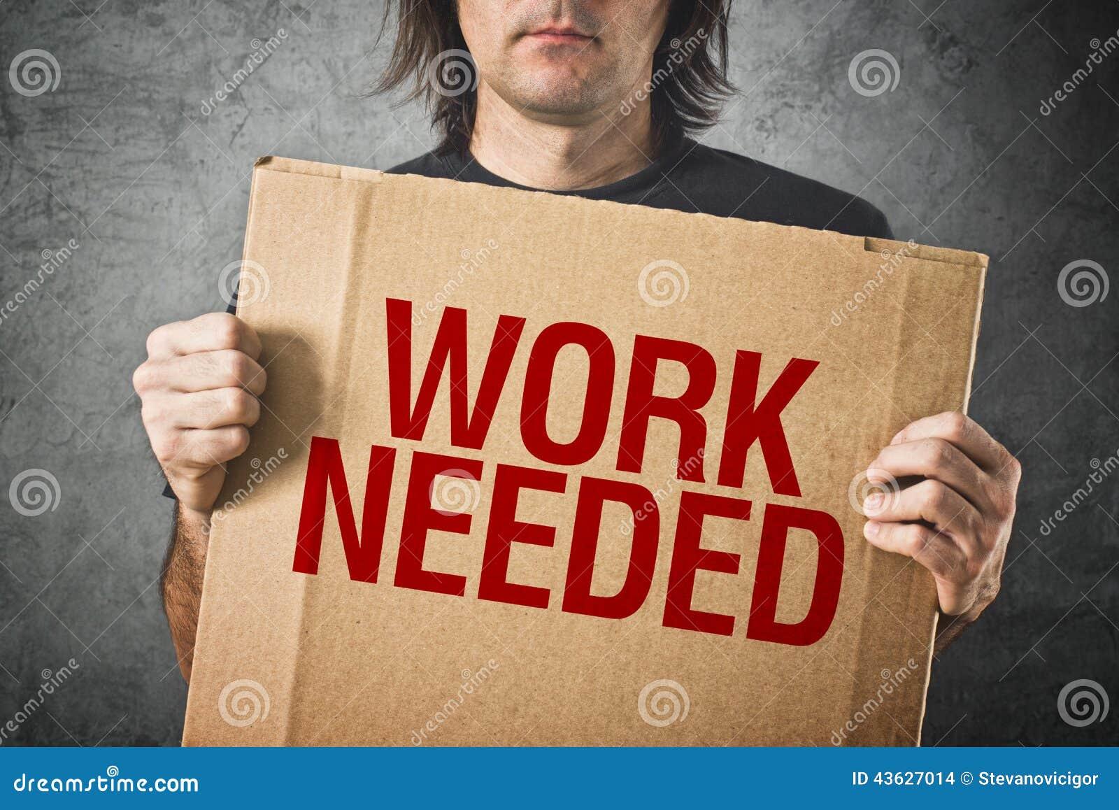Behövt arbete