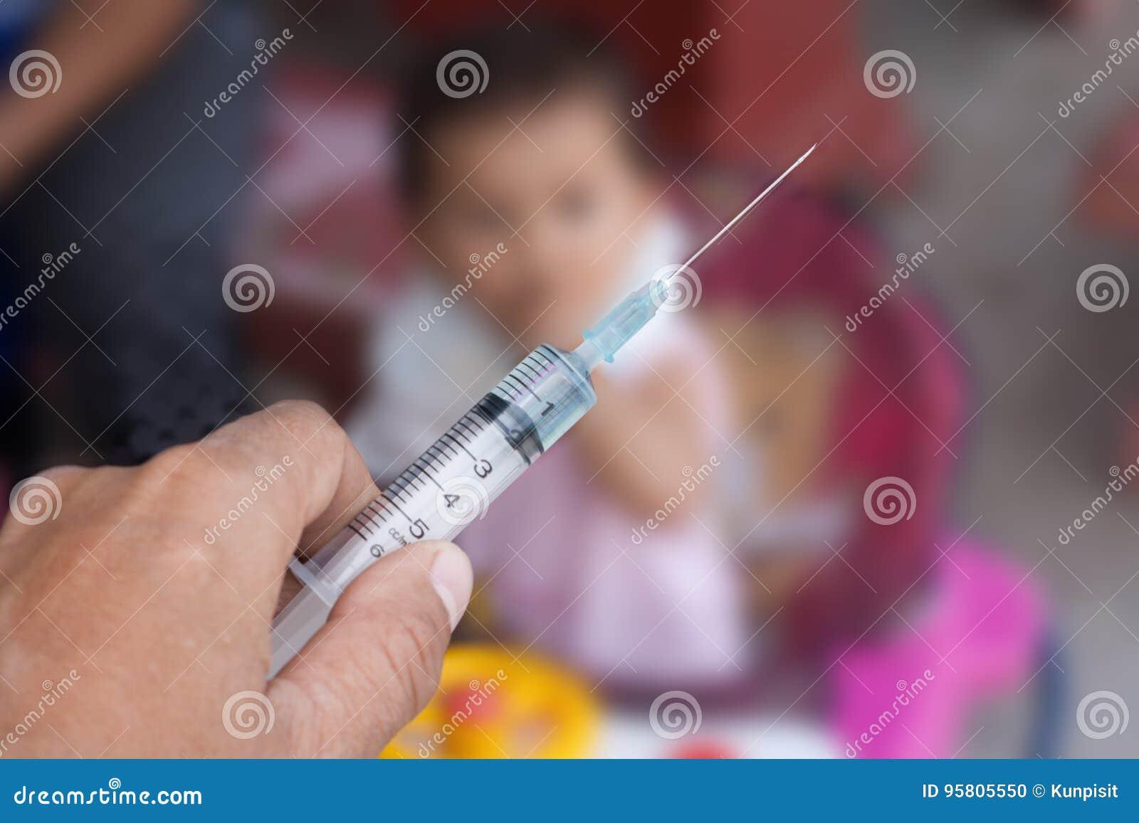 Behandel children& x27; s gezondheid met vaccins
