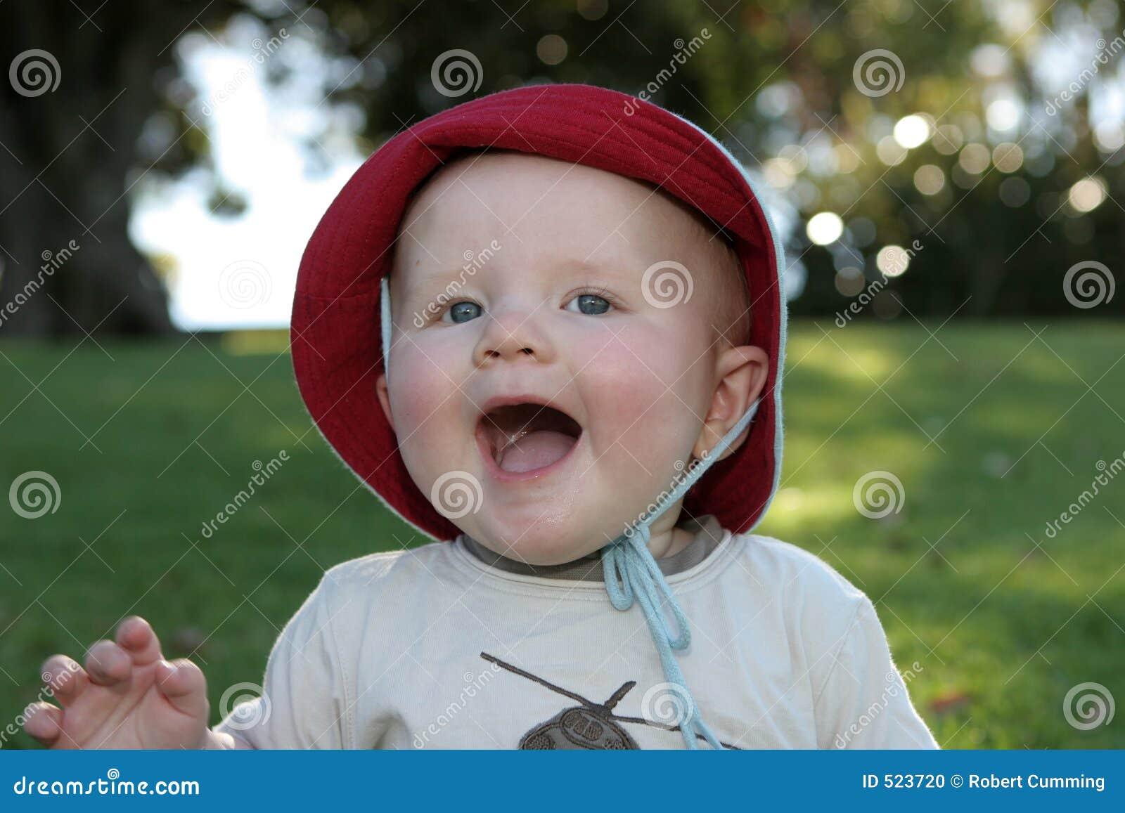 Behandla som ett barn att skratta för uttryck