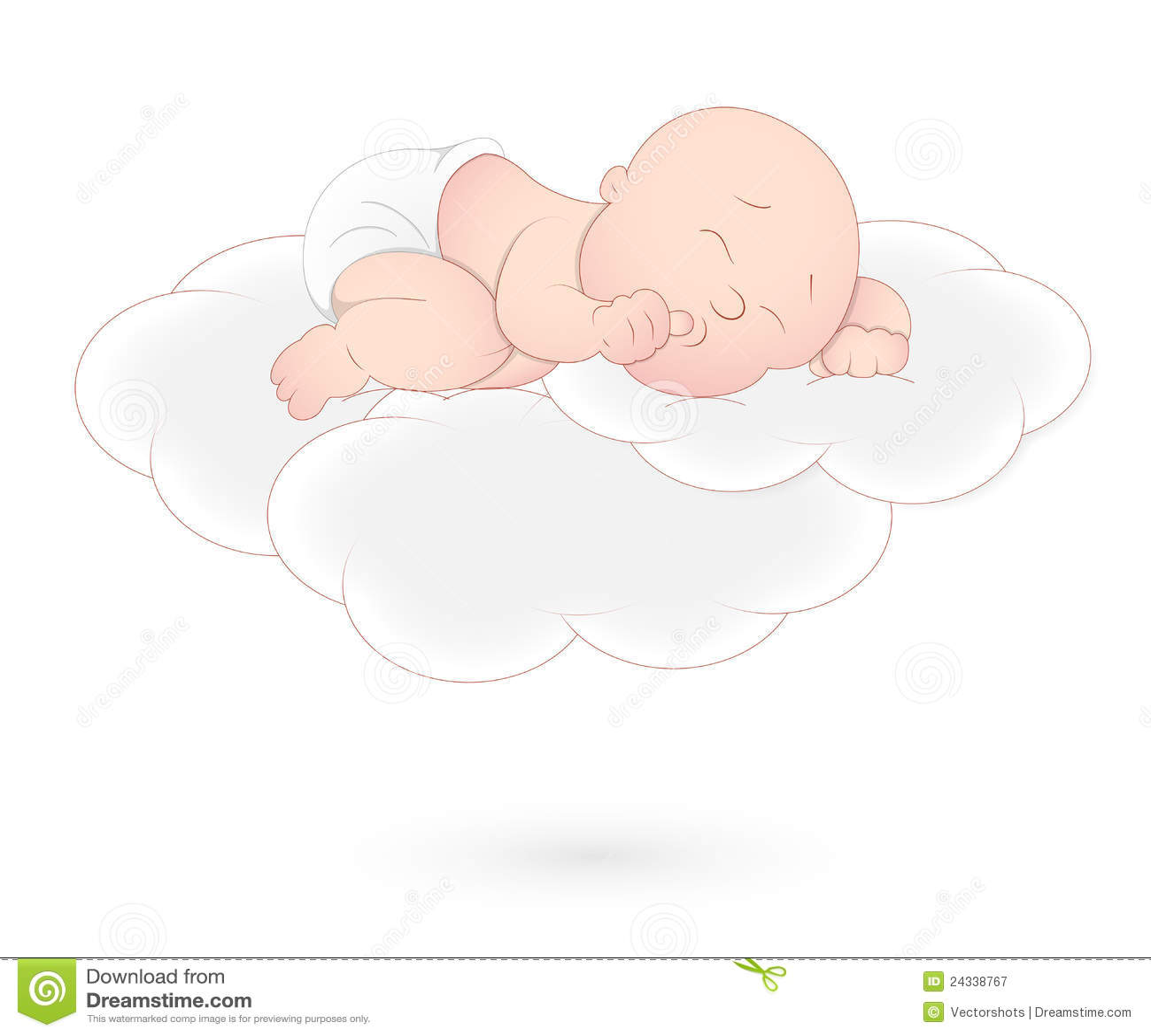 Behandla som ett barn att sova för oklarhet