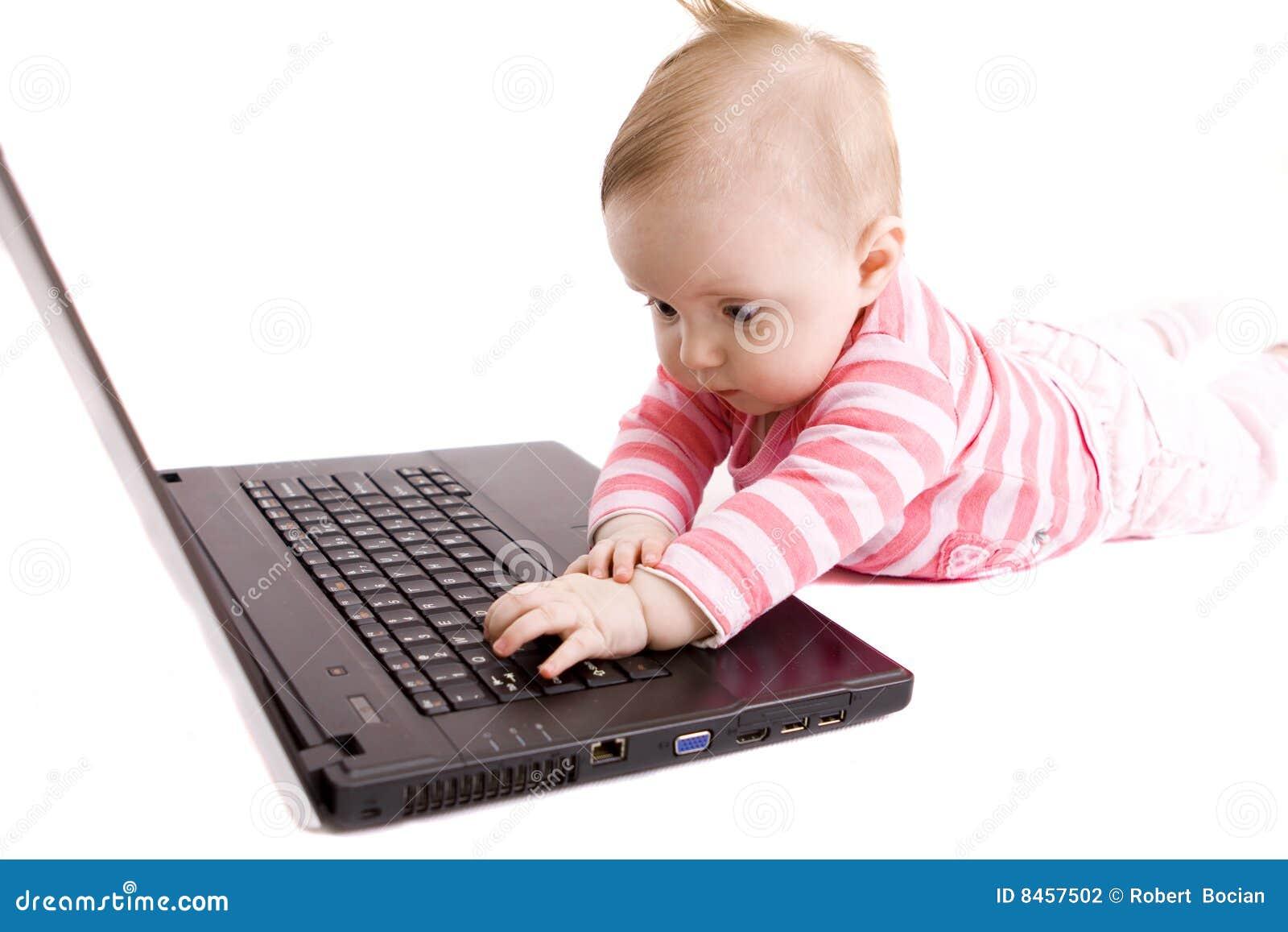 Behandla som ett barn bärbar dator