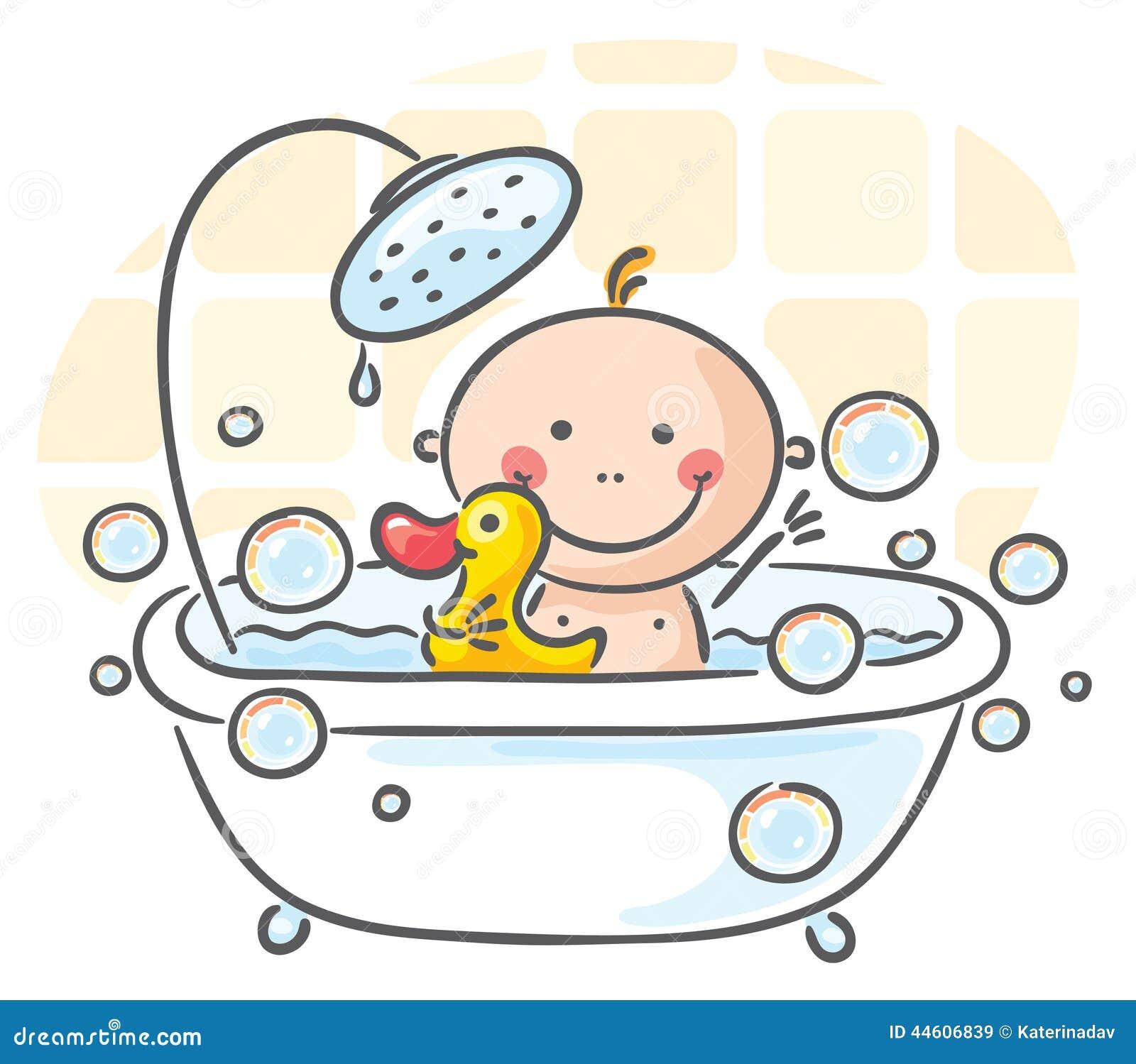 Behandla som ett barn badet
