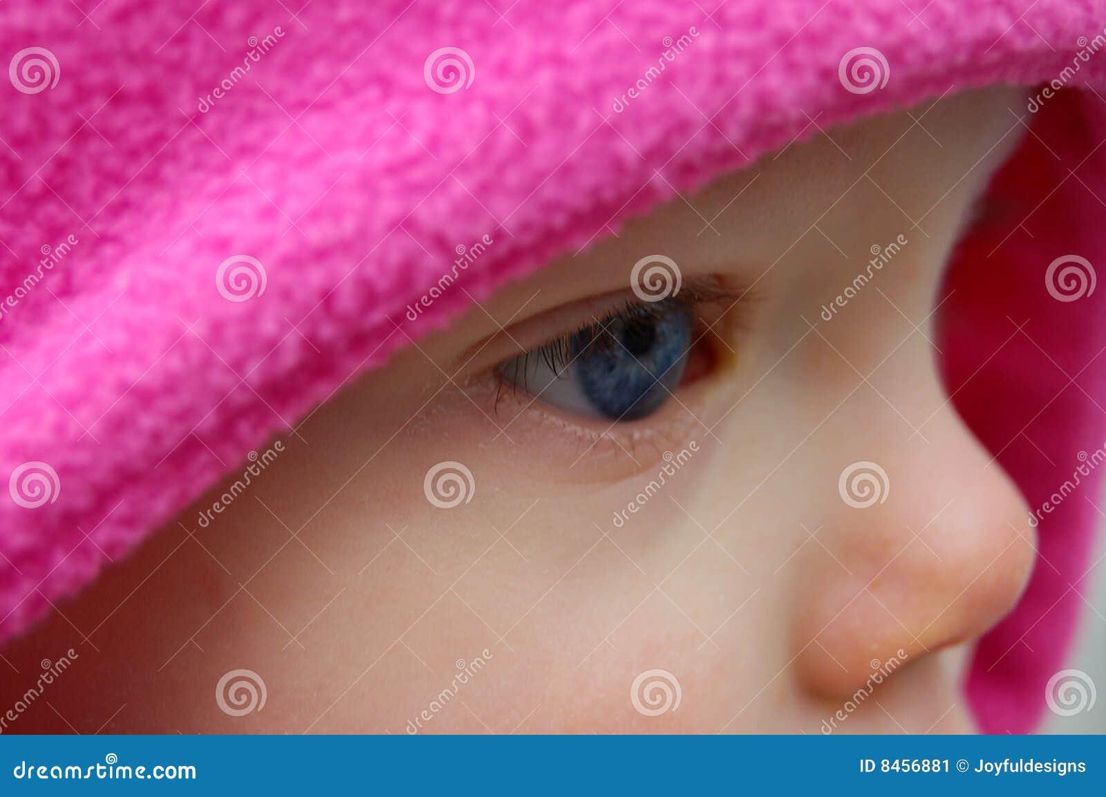 Behandla som ett barn bluen som den täta sidan för öga s upp visar mycket