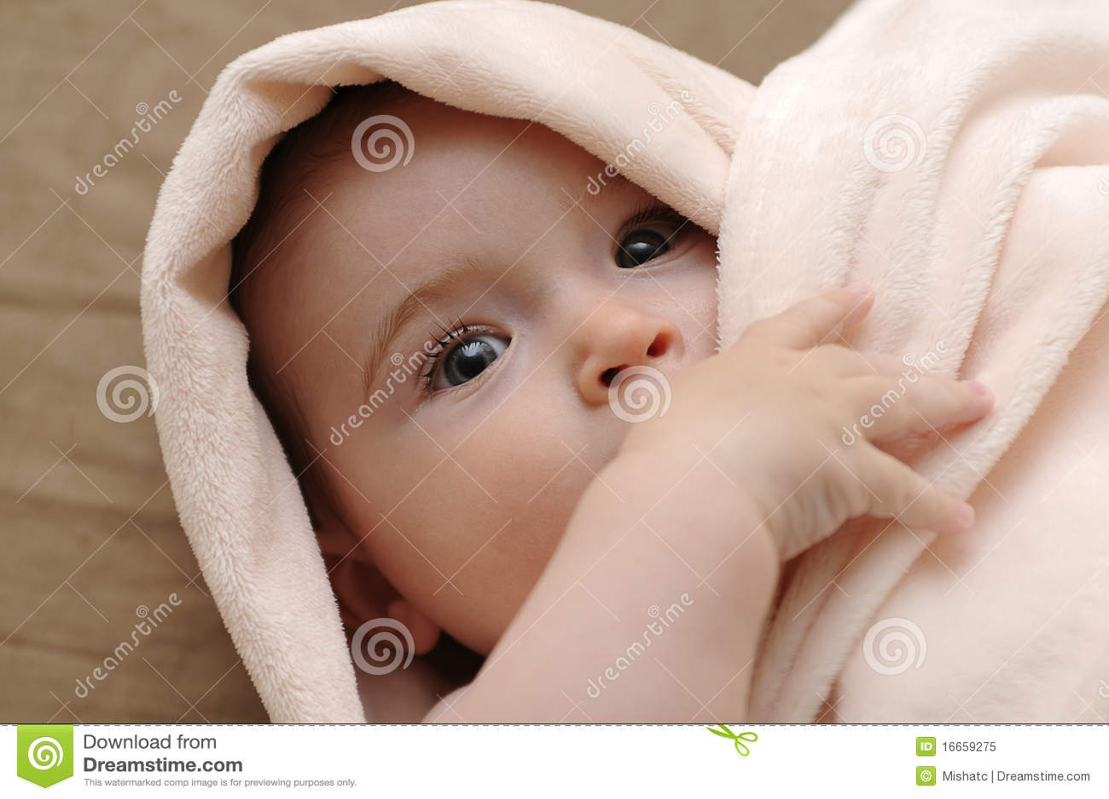 Behandla som ett barn den härliga filtpinken