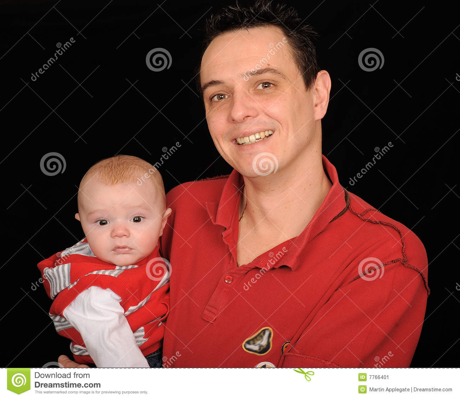 Behandla som ett barn den le sonen för fadern