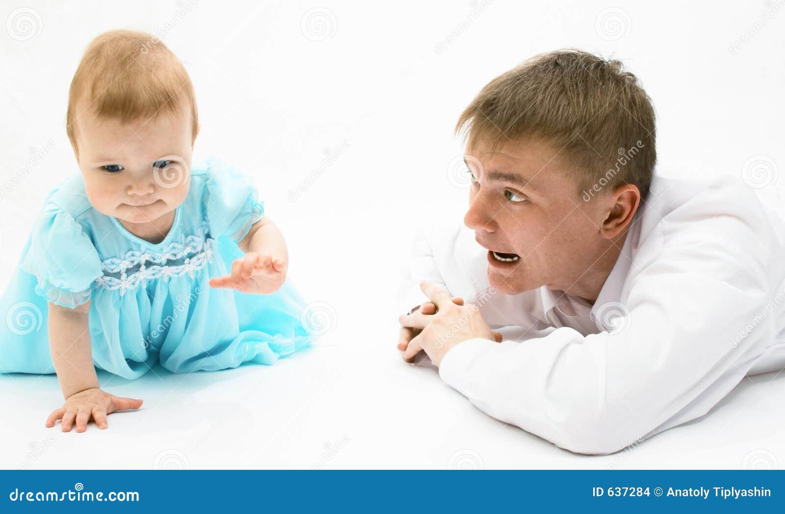 Behandla som ett barn fadern