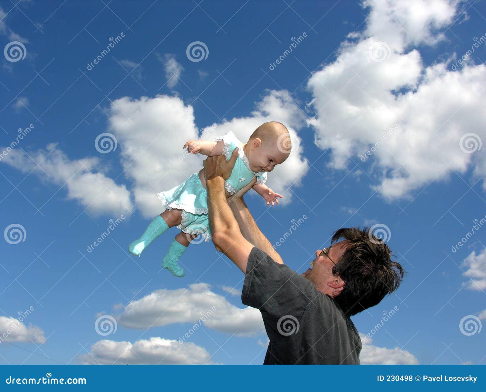 Behandla som ett barn faderskyen