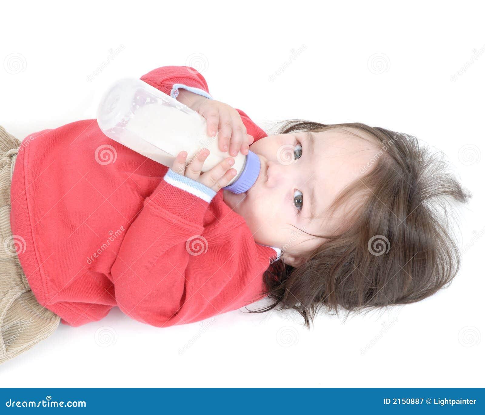 Behandla som ett barn flaskpojken