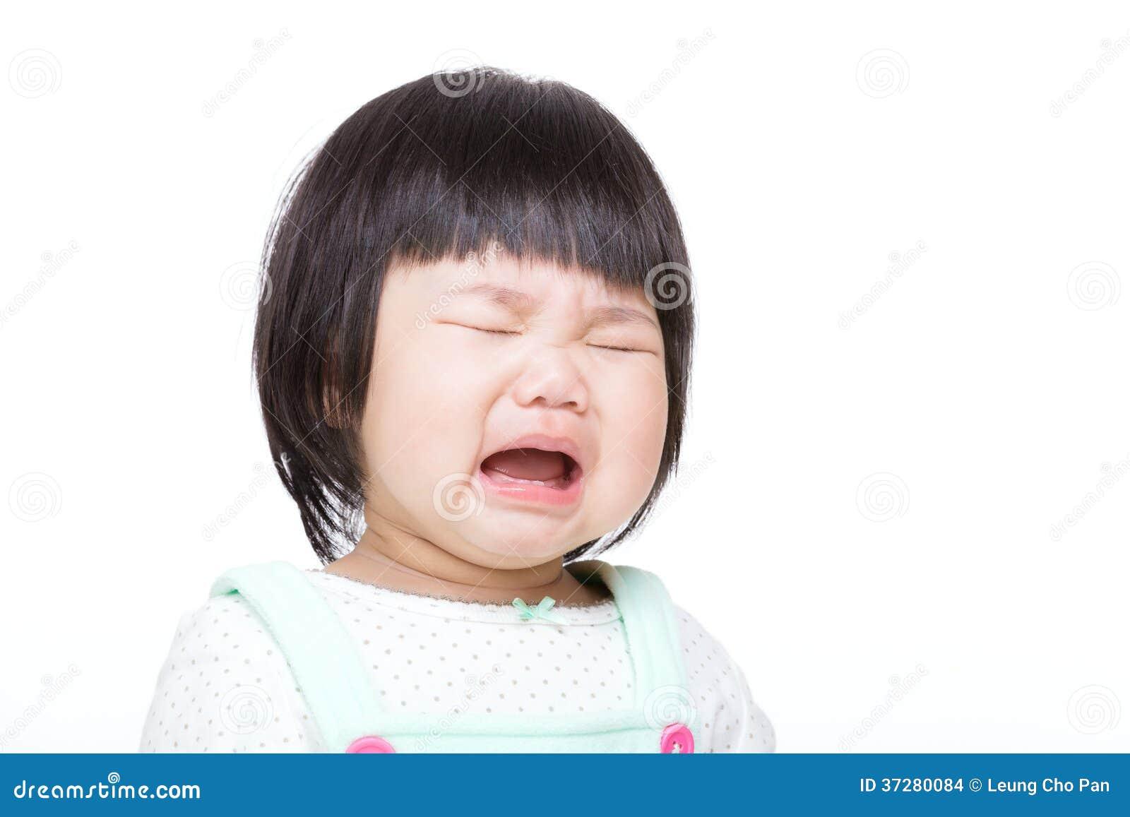 Behandla som ett barn gråt och isolerade