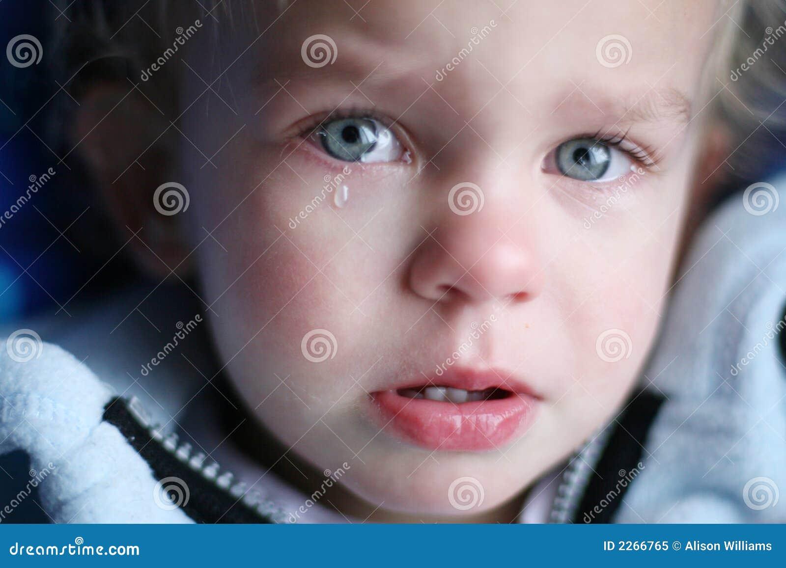 Behandla som ett barn gråten