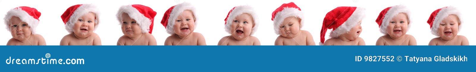 Behandla som ett barn julcollagehatten