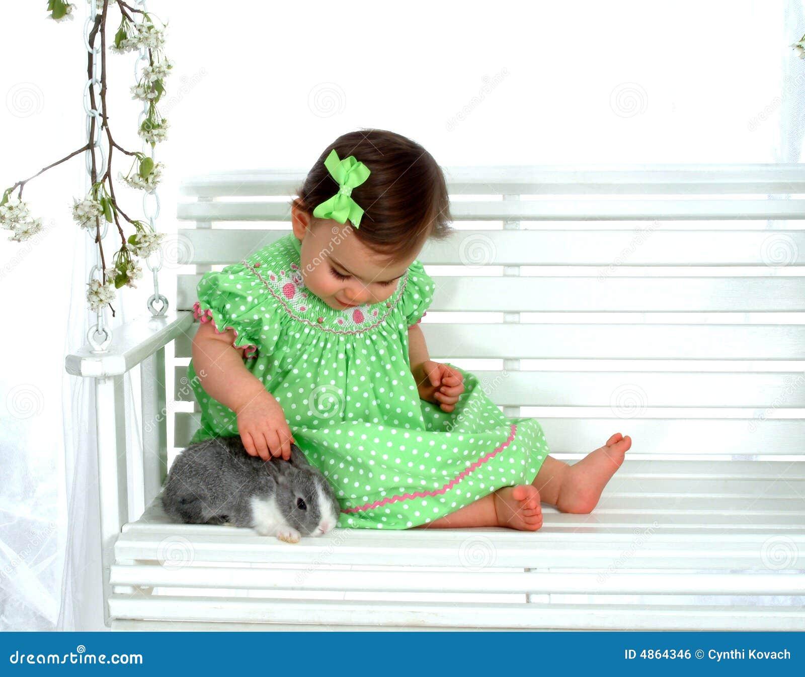 Behandla som ett barn kaninswing